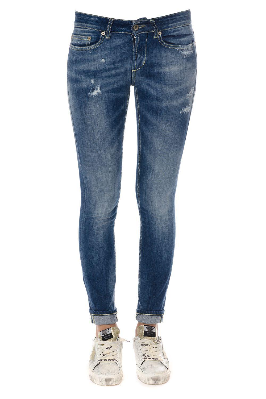 Dondup Monroe Denim Stretch Cotton Jeans 7721661