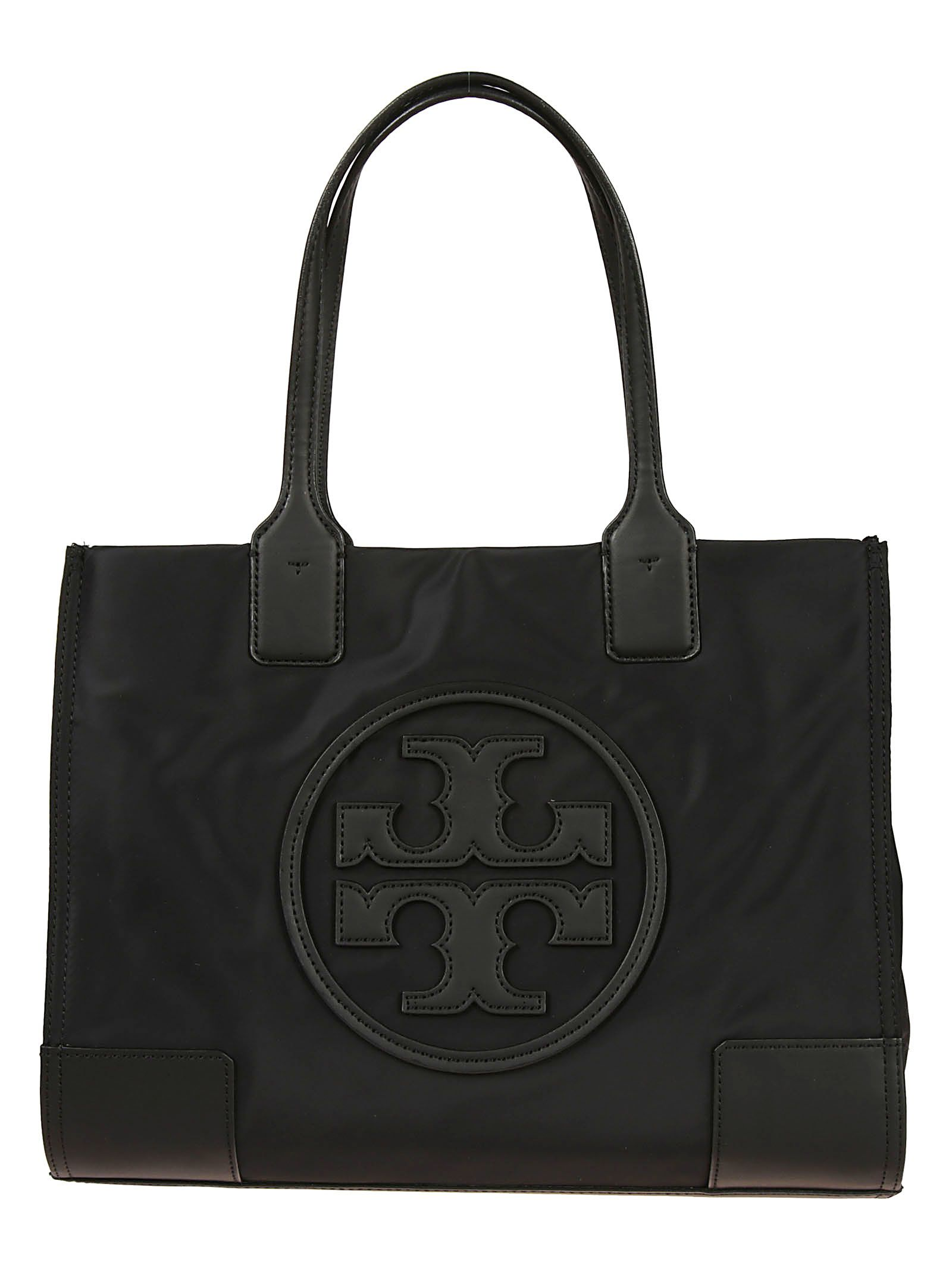908667e838b Tory Burch Black Nylon Ella Tote Bag