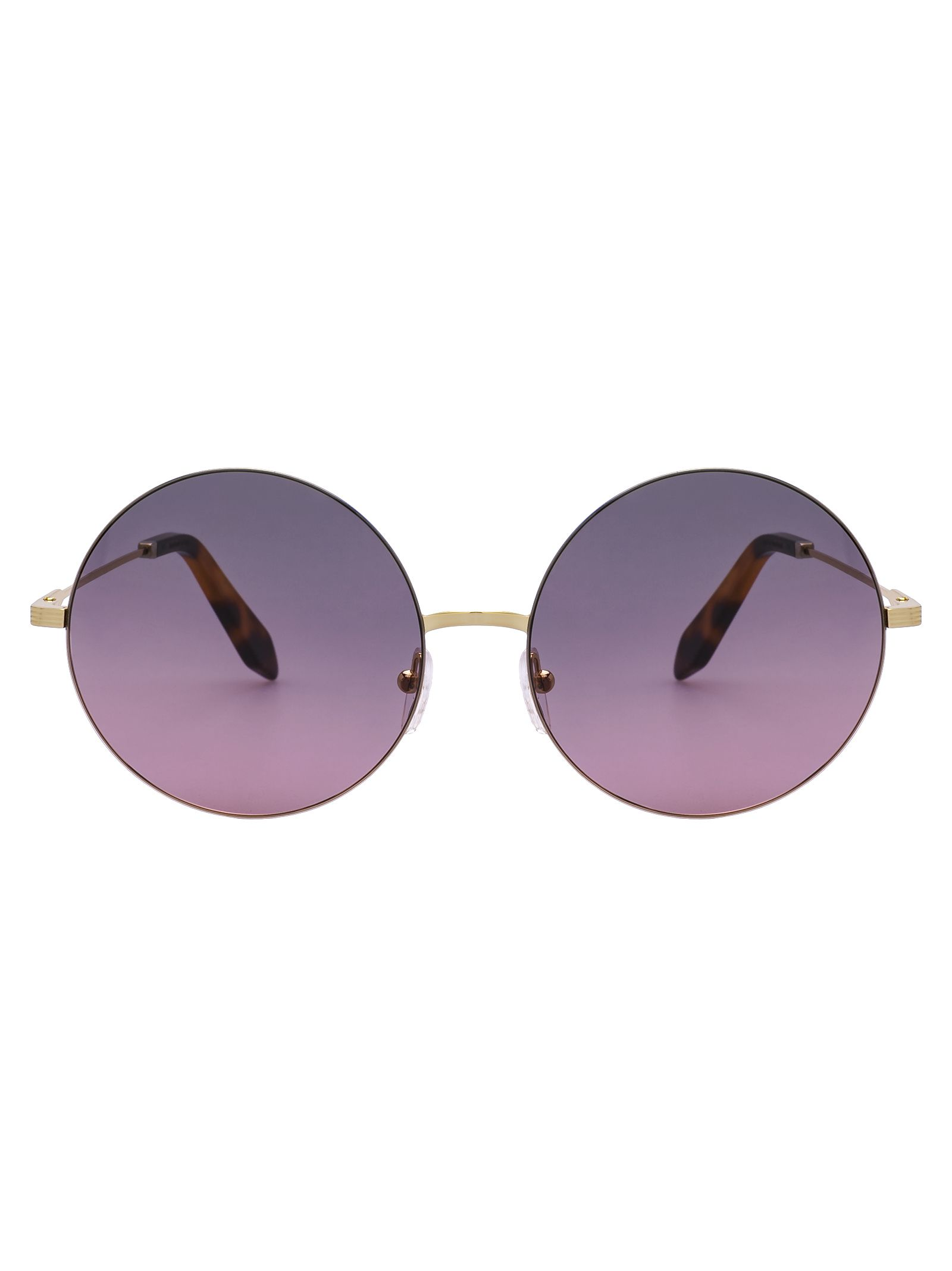 15707b0f6 Victoria Beckham Feather Round Sunglasses In Dove Pink | ModeSens