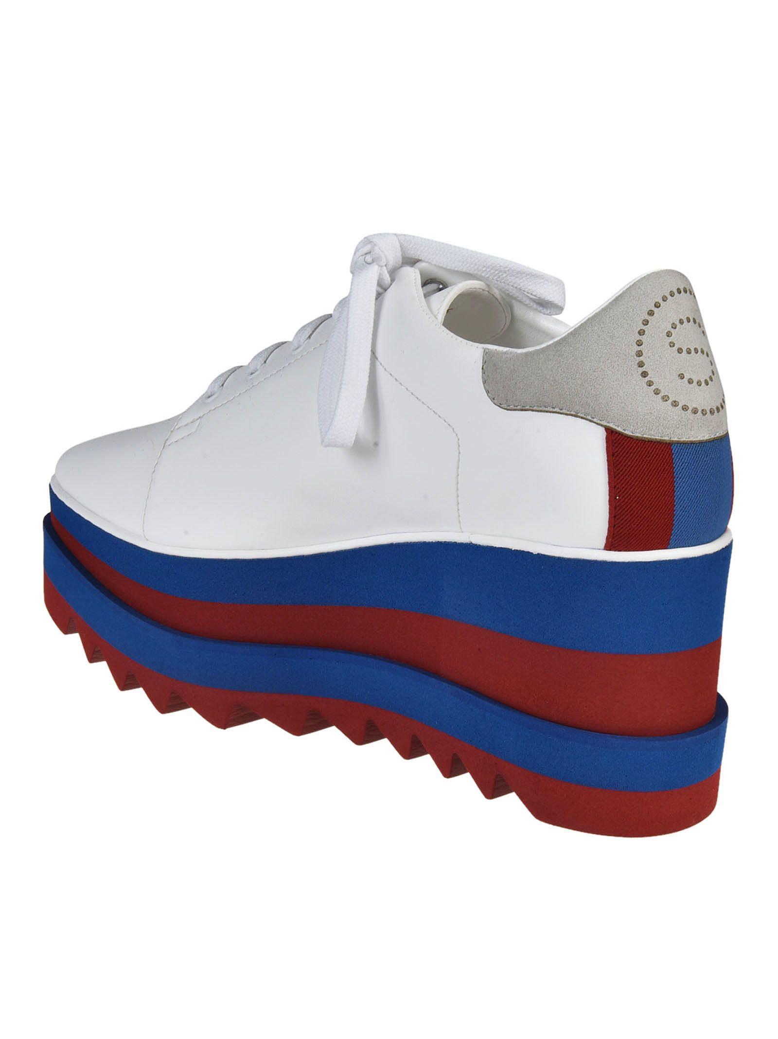 ... Stella McCartney Sneak Elyse Platform Sneakers