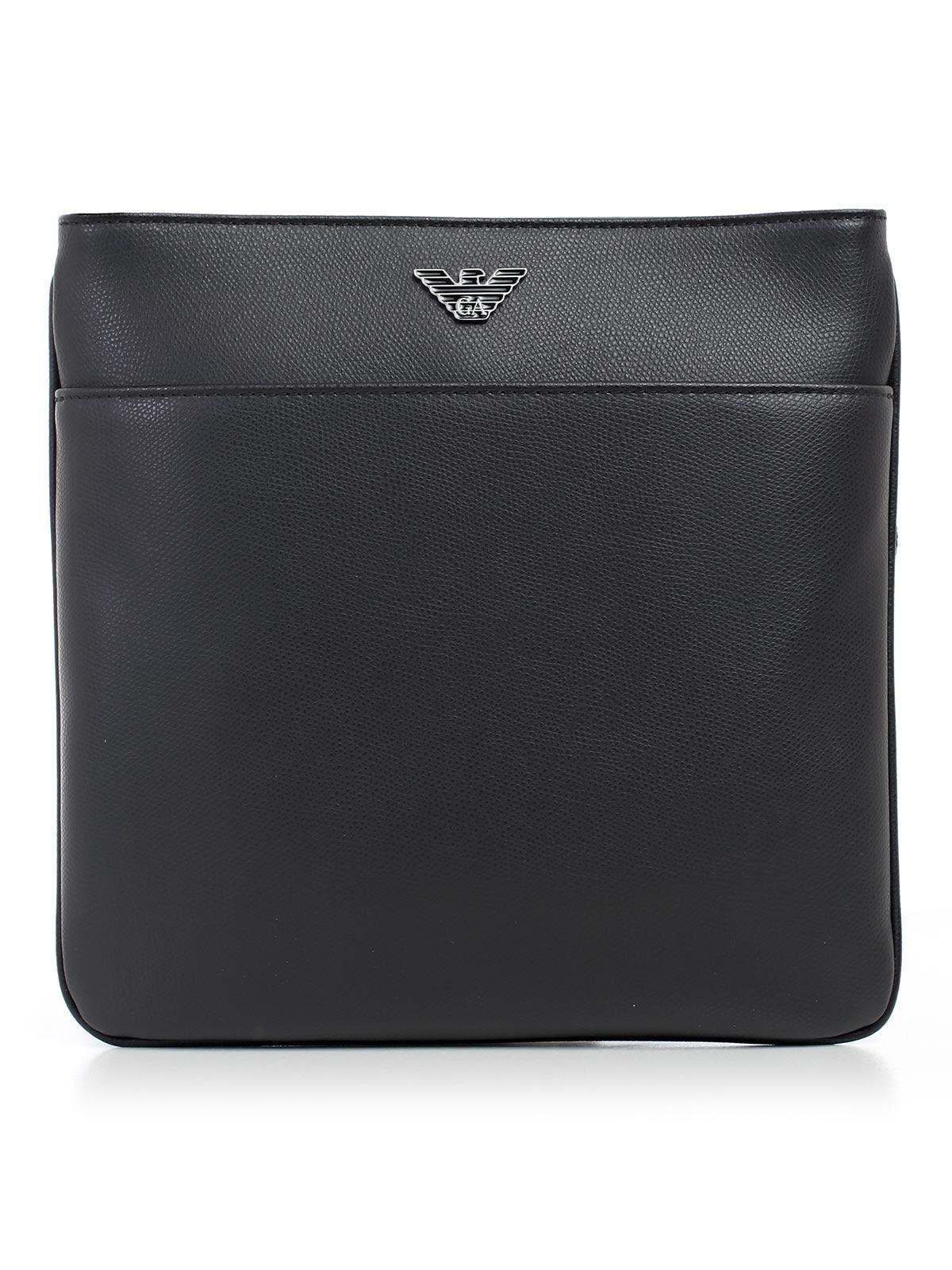 Emporio Armani Logo Strap Shoulder Bag