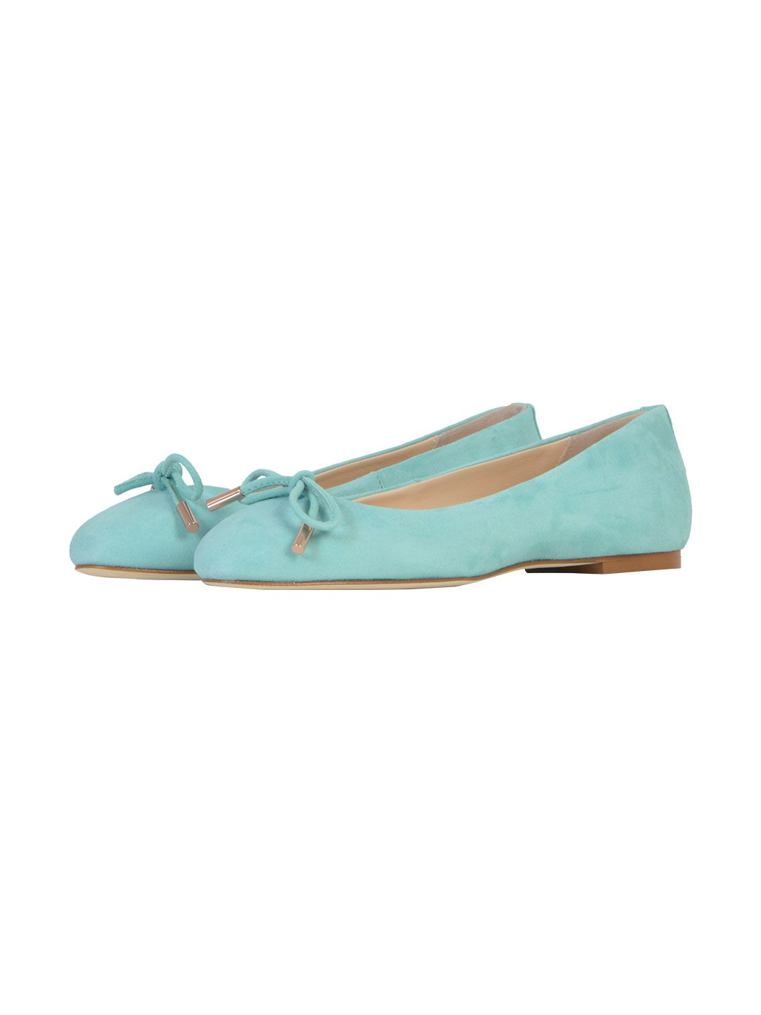 Discount Store ANNA BAIGUERA Sueded Ballerina Online Cheap Authentic Free Shipping Authentic Sale 2018 Newest Store Sale Online Ql93AtT3