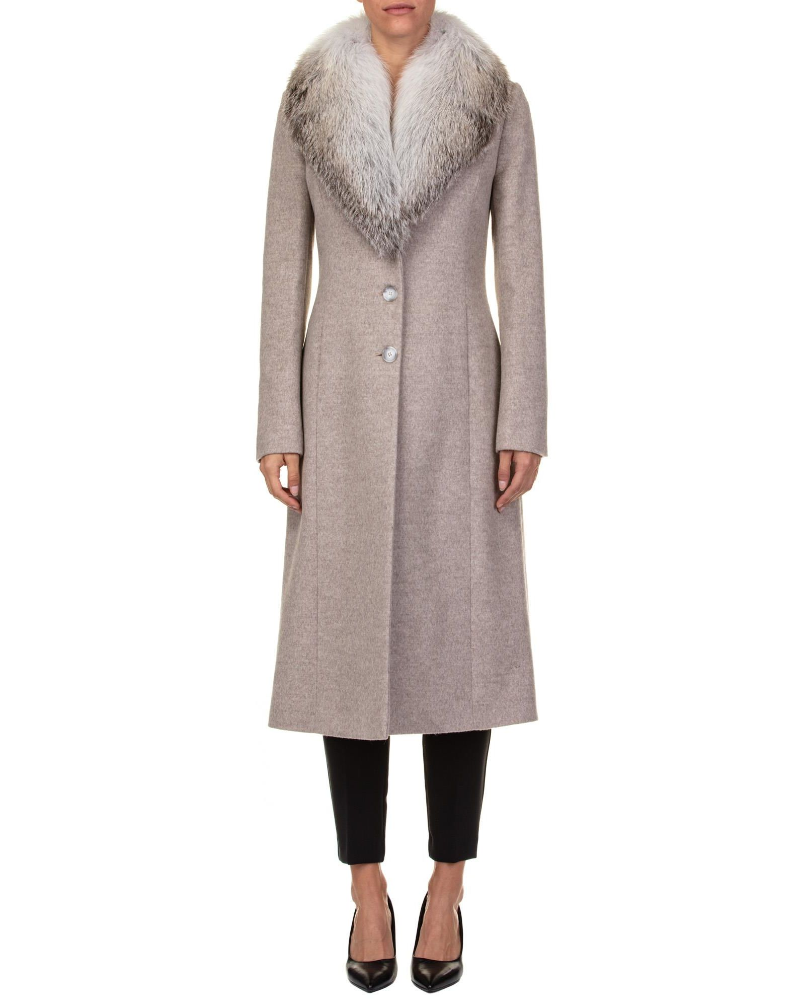 Blumarine VIRGIN WOOL COAT