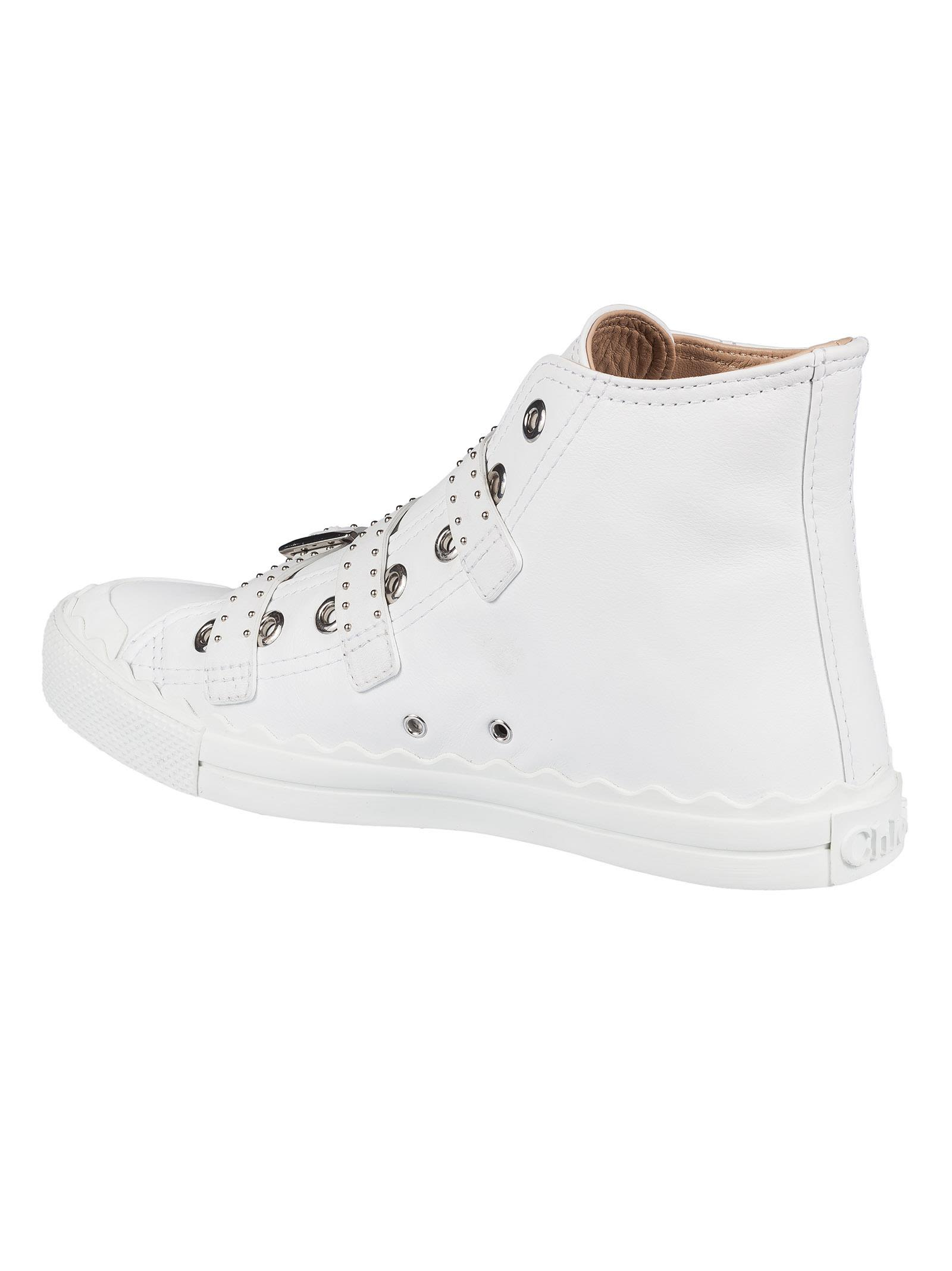 Chloé Chlo Kyle Hi-top Sneakers Best Store To Get Cheap Price Outlet Clearance Store Quality Free Shipping For Sale For Nice Sale Online ziNkffQbC