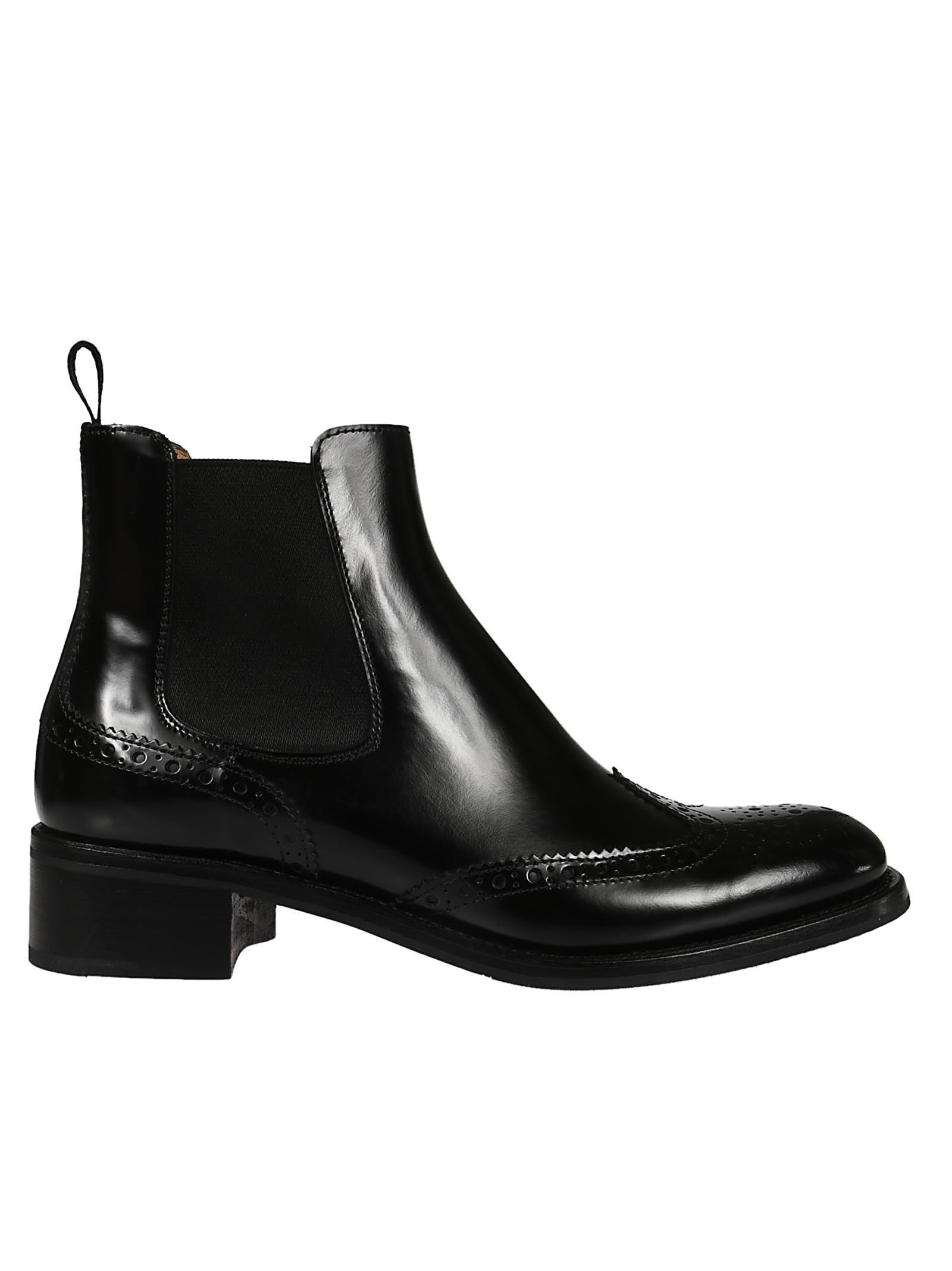 Church's PERFORATED ANKLE BOOTS