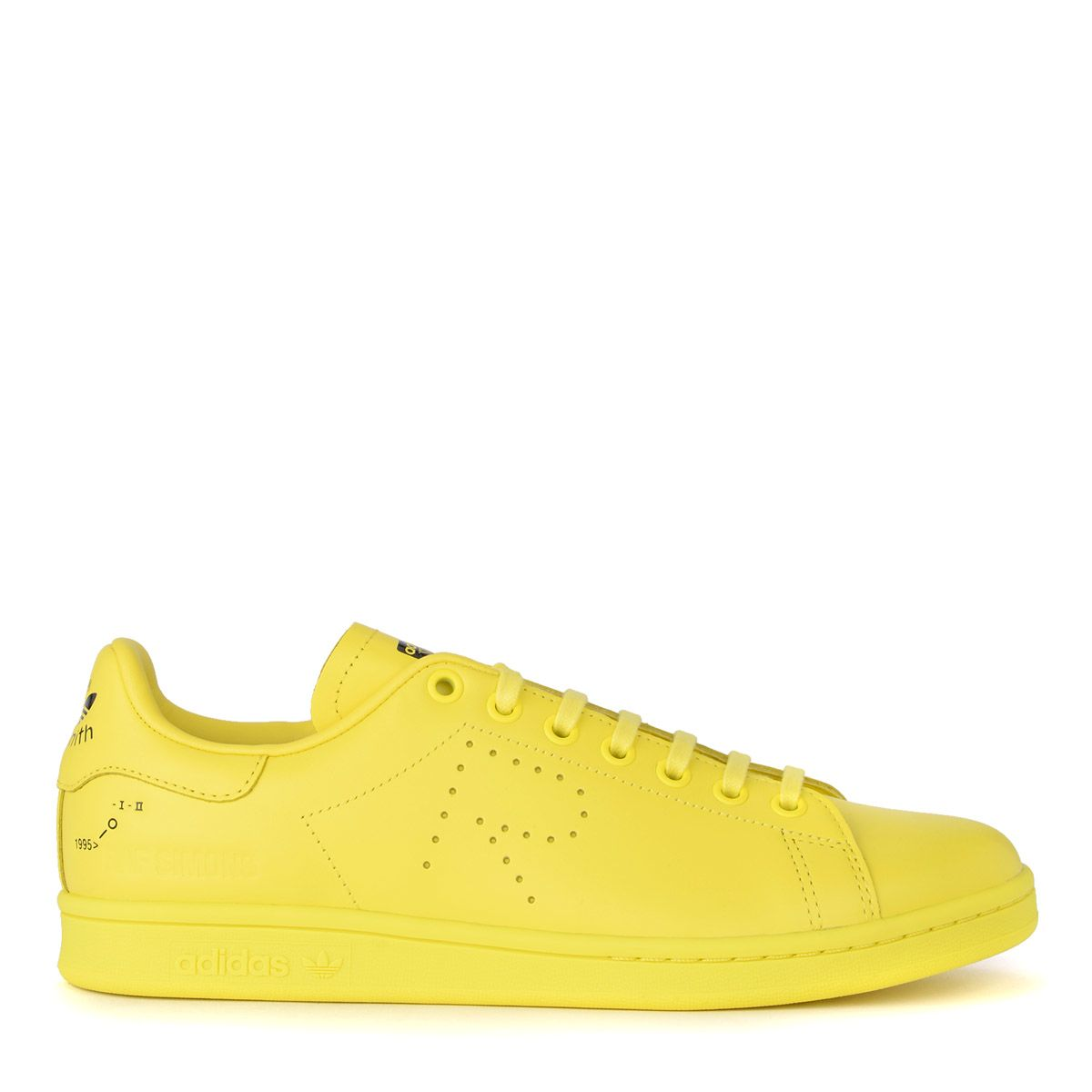 uk availability 581aa 4c13b Raf Simons Sneaker Adidas By Stan Smith In Pelle Gialla In Giallo