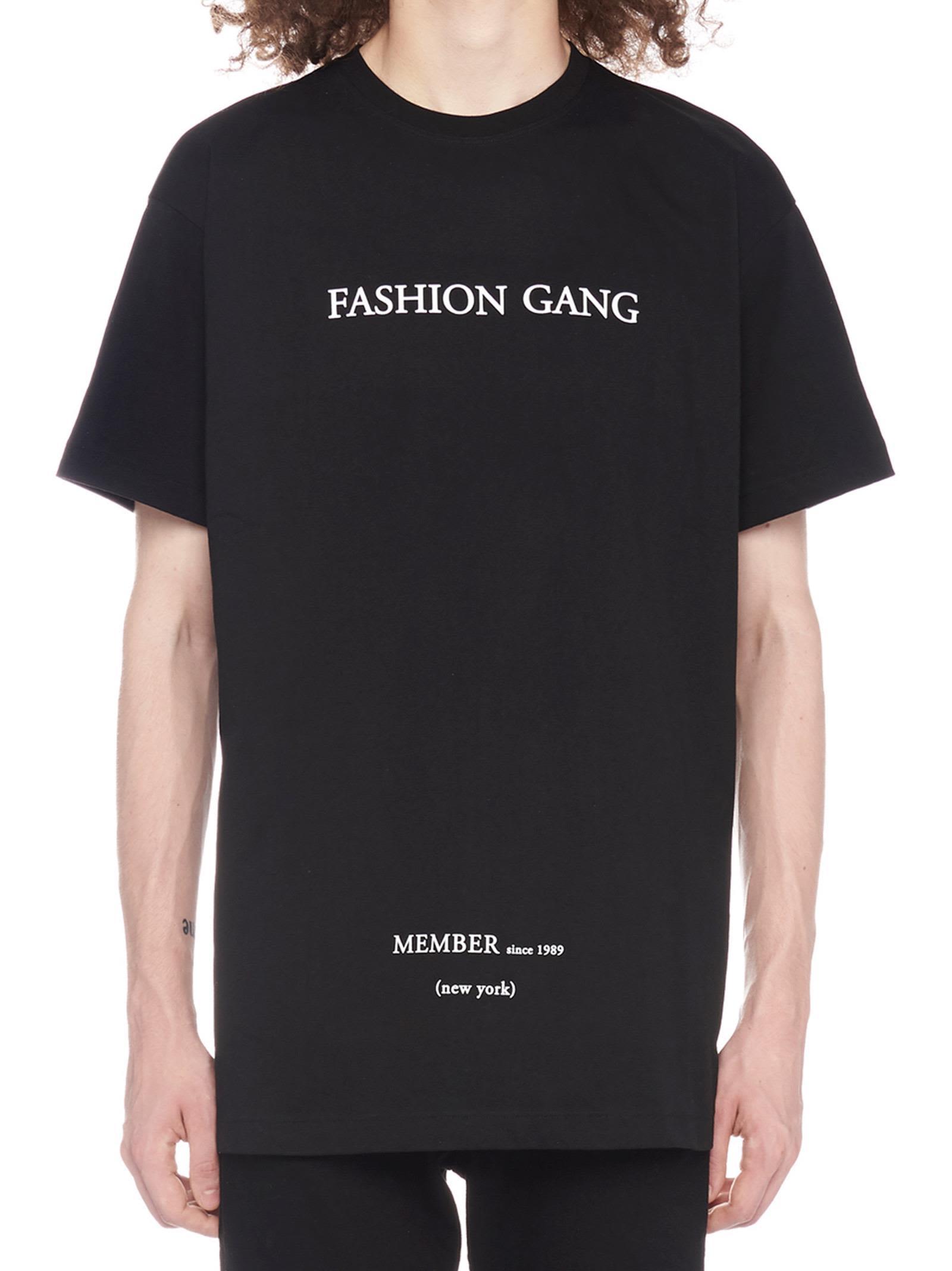IH NOM UH NIT Ih Nom Uh Nit - Ih Nom Uh Nit Fashion Gang T-Shirt in Black