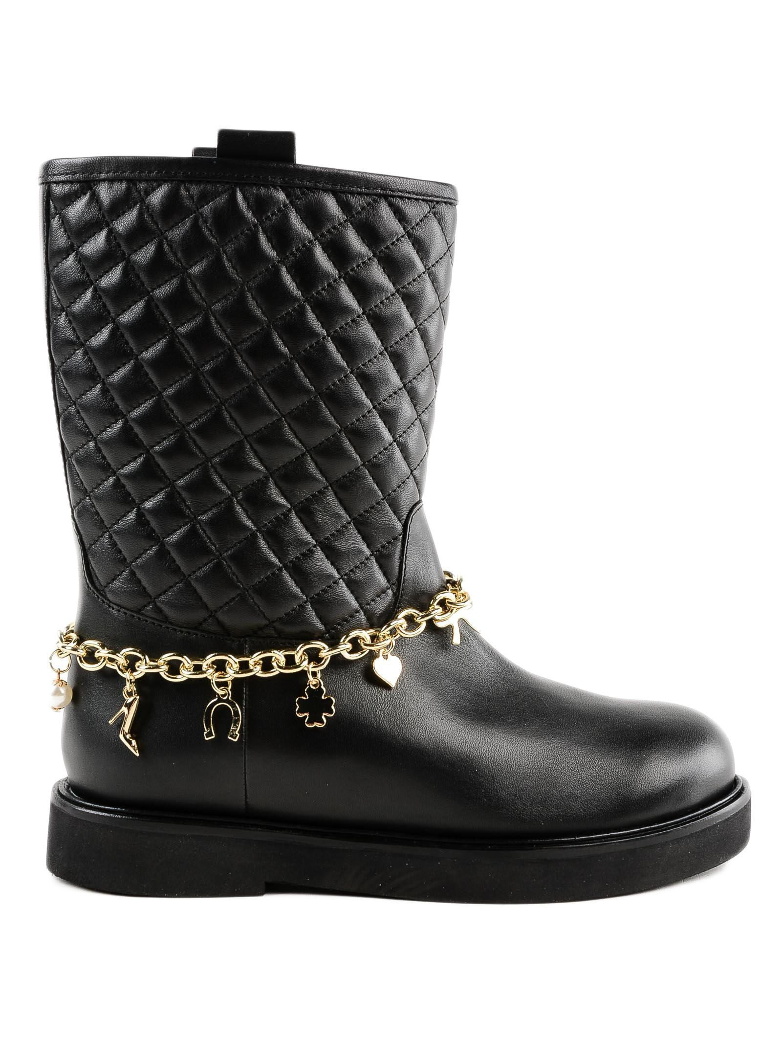 Twinset Quilted Boots