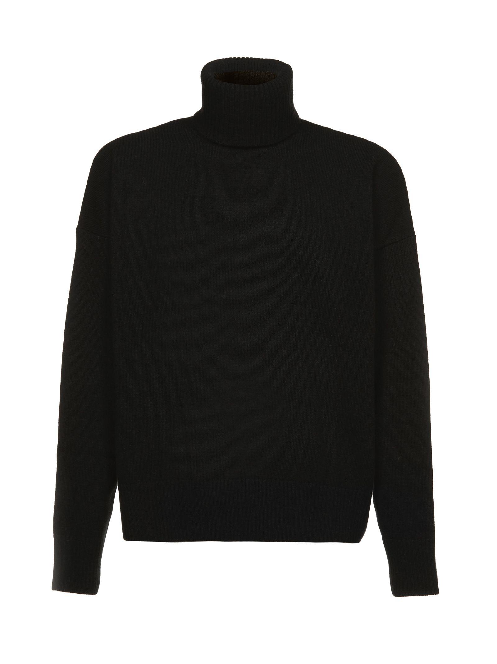 ami alexandre mattiussi -  Turtle Neck Oversized Fit Sweater