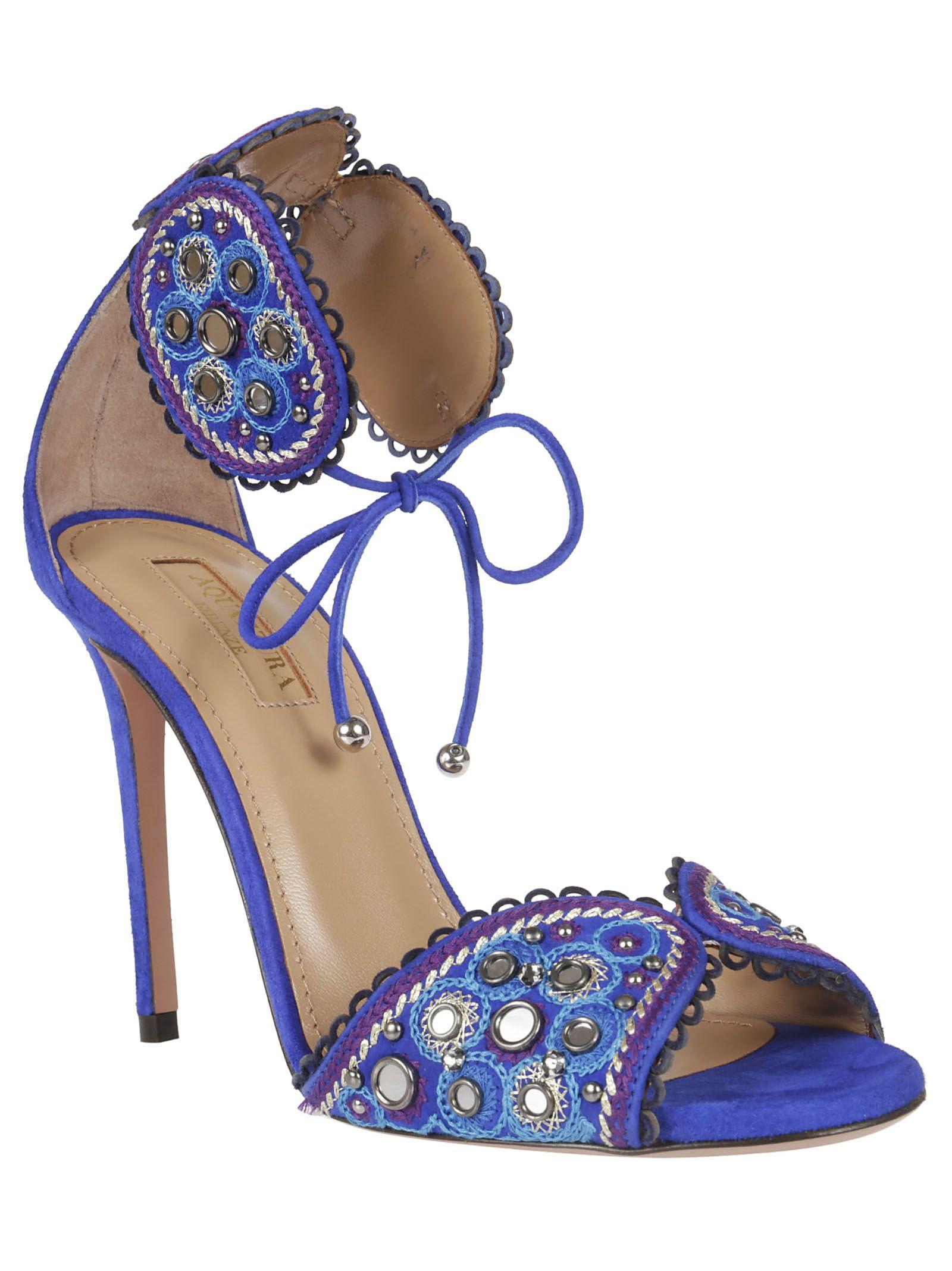 Jaipur sandals - Blue Aquazzura Un99c8Zt9
