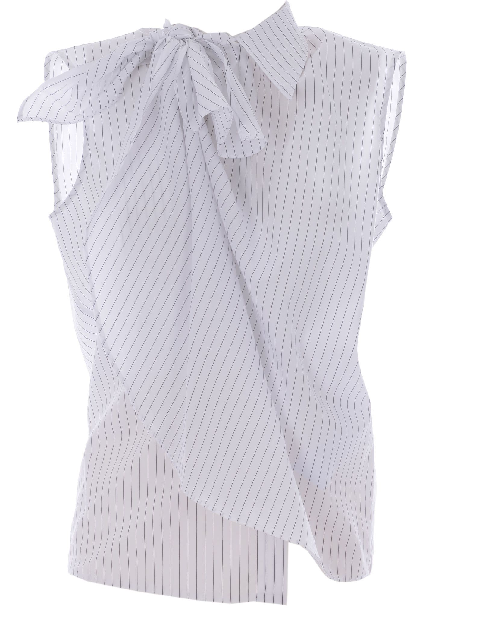 Mm6 Maison Margiela Striped Shirt