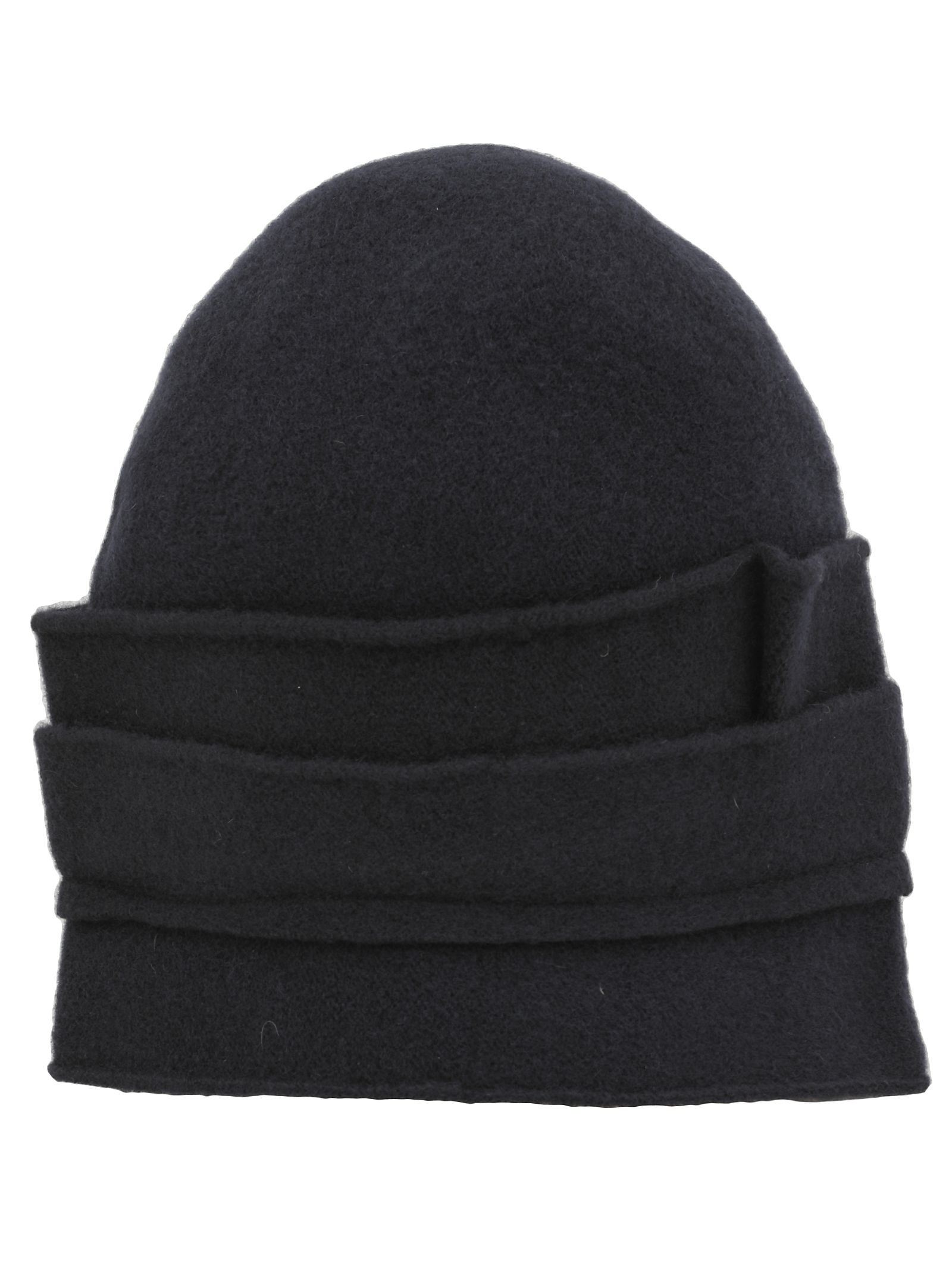 SCHA Crown Medium Hat in Dark Blue