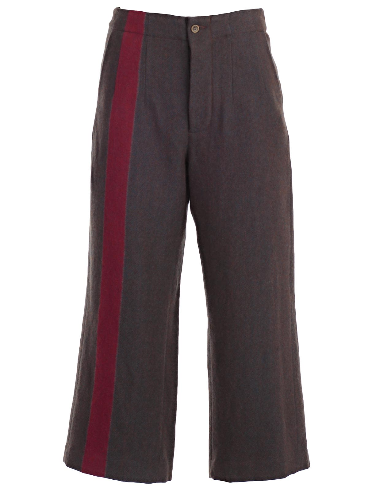 CROPPED SIDE STRIPE TROUSERS from Italist.com