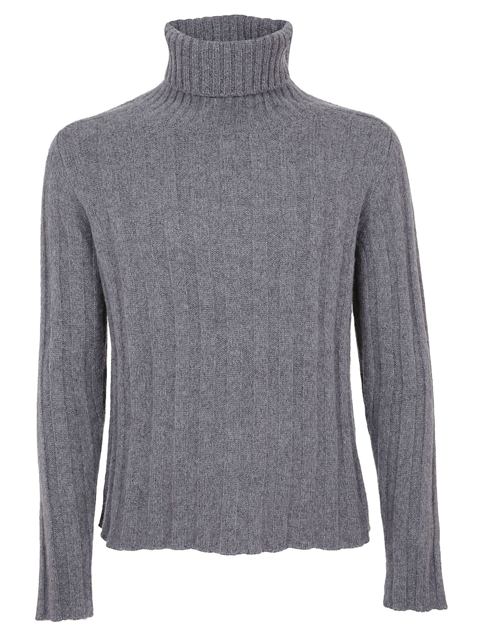 MASSIMO PIOMBO Ribbed Sweater in 8