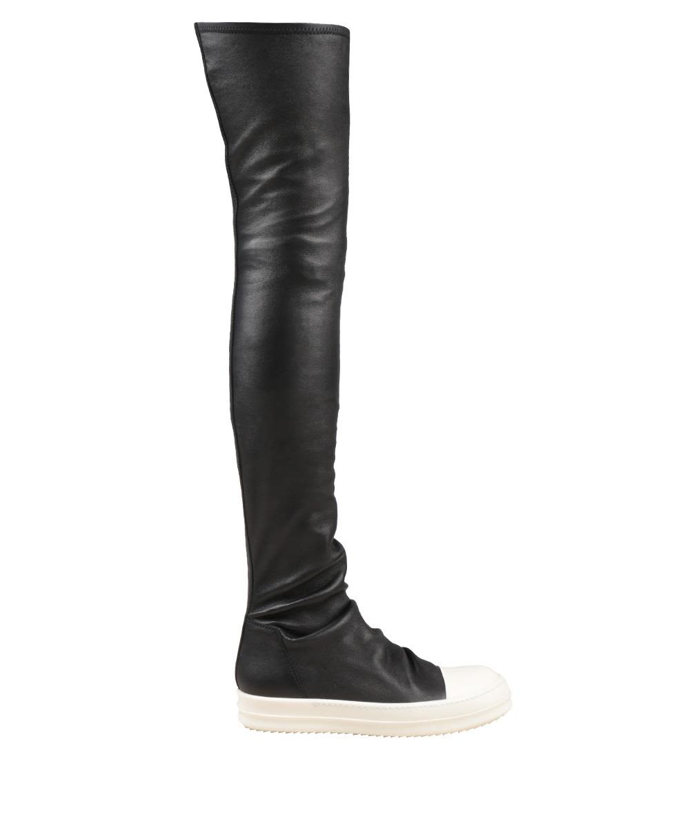 Rick Owens Black Stocking Sneaker-boots