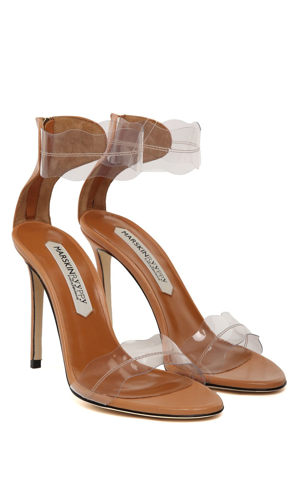 Pauwau patent-leather and PVC sandals Marskinryyppy at2zMLjD