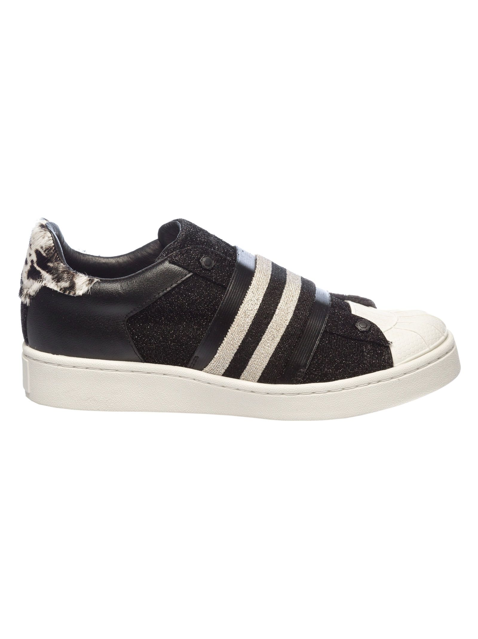 MOA COLLECTION Moa Usa M952 Sneakers in Black/White