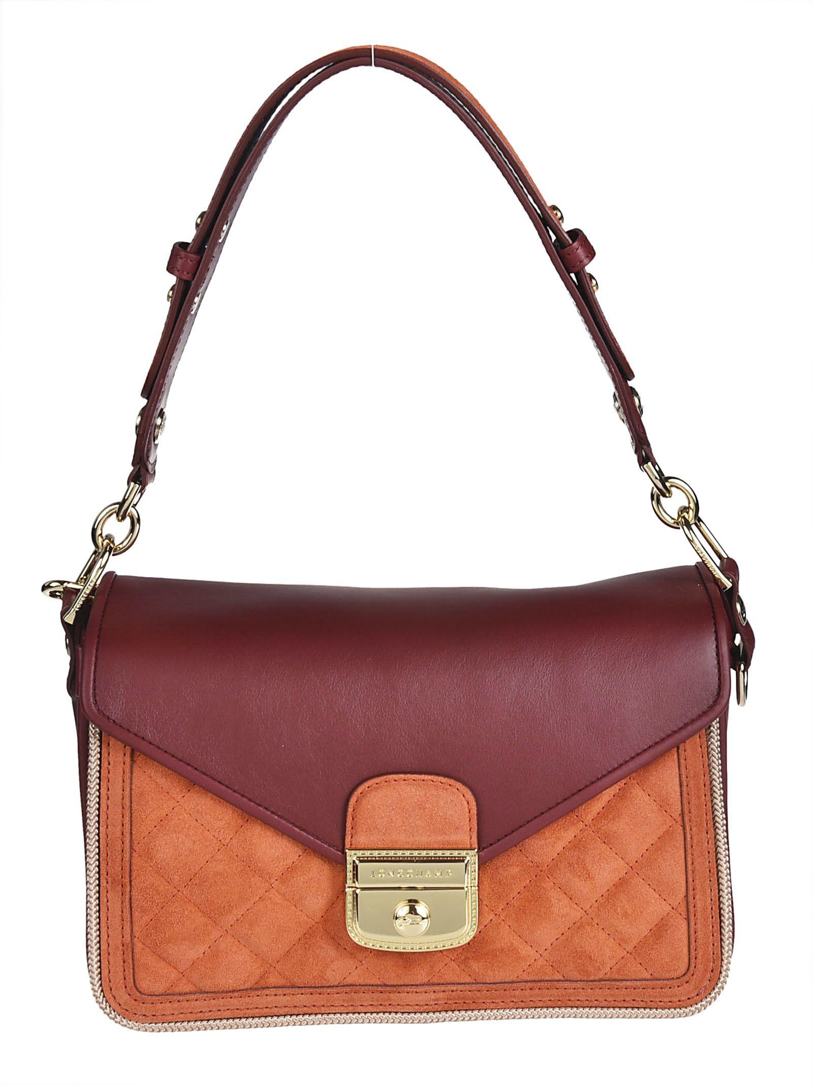 Longchamp Foldover Shoulder Bag