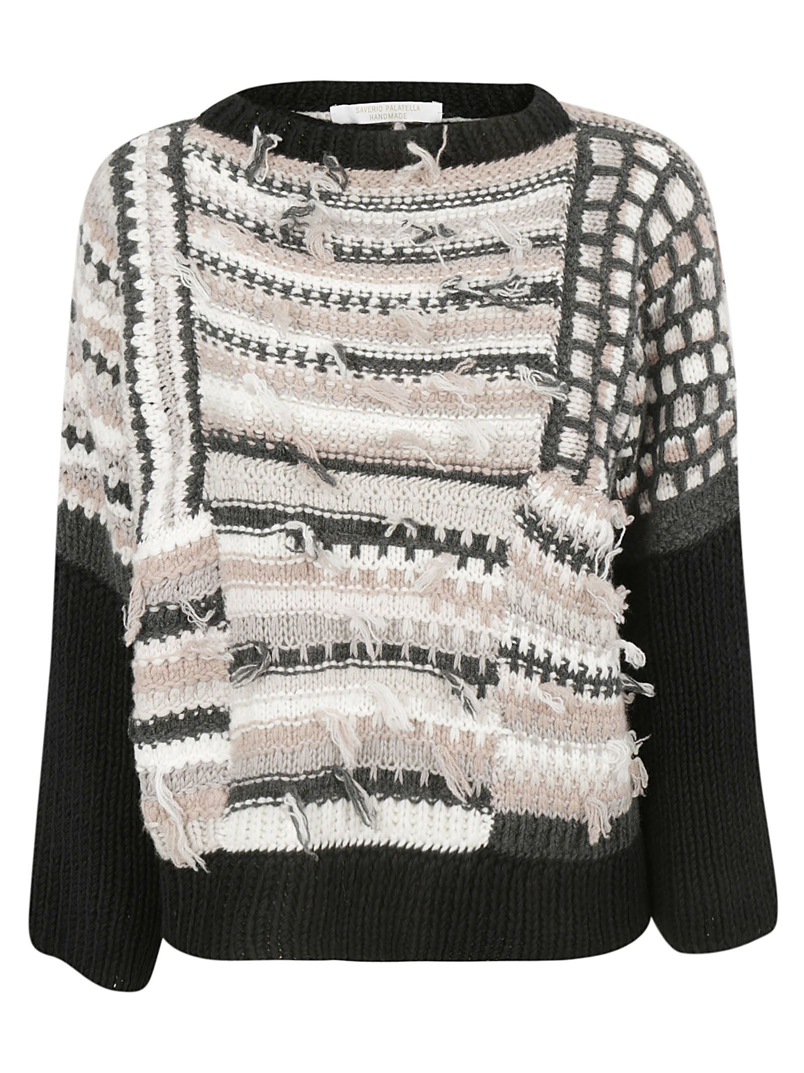 SAVERIO PALATELLA Knitted Sweater in Fantasy