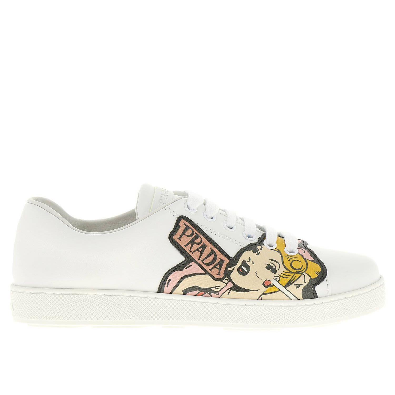 Sneakers Shoes Women Prada