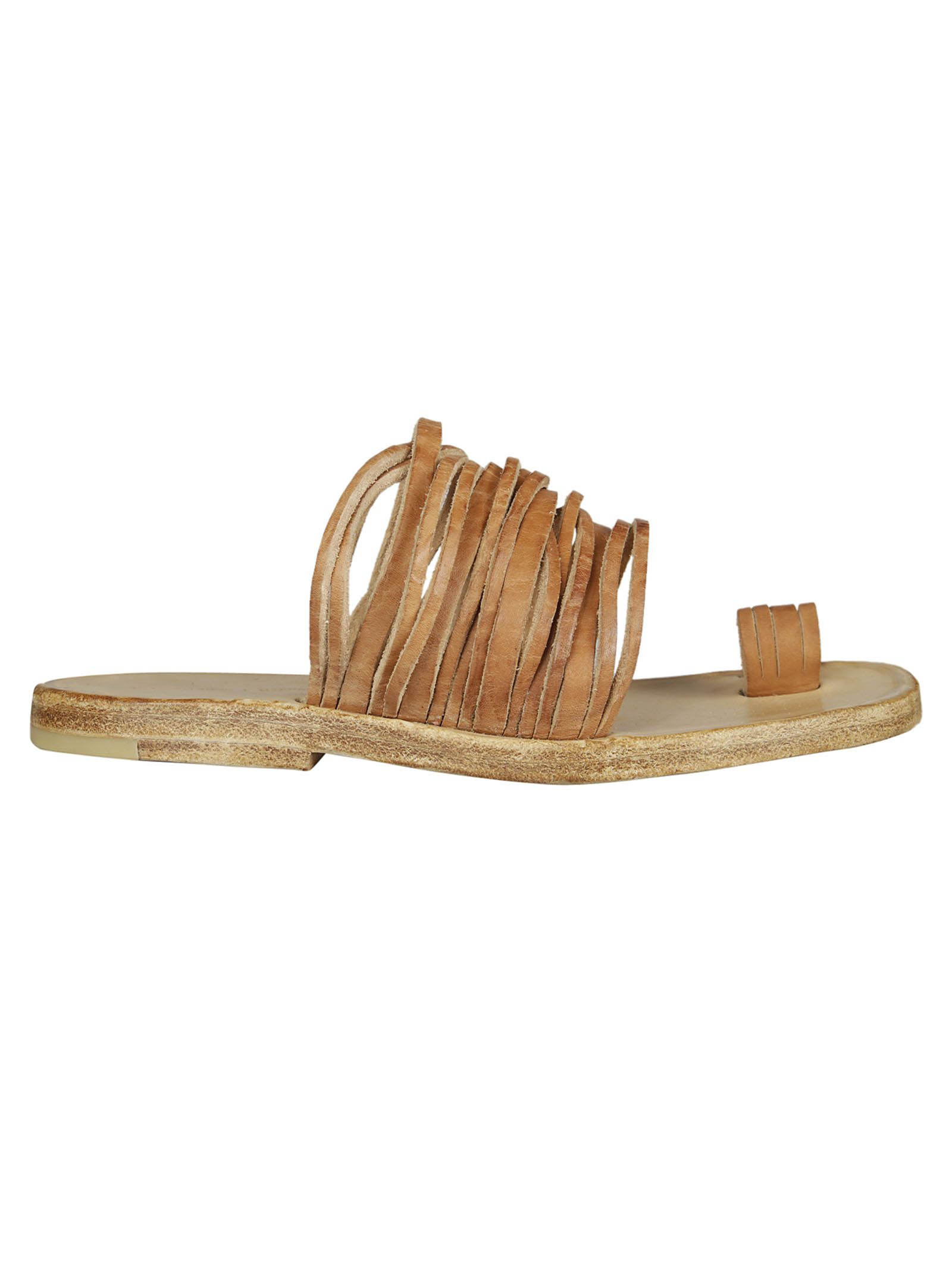 DIMISSIANOS & MILLER Daktylo Strappy Sandal Outlet Looking For High Quality For Sale dr3pC9qkj