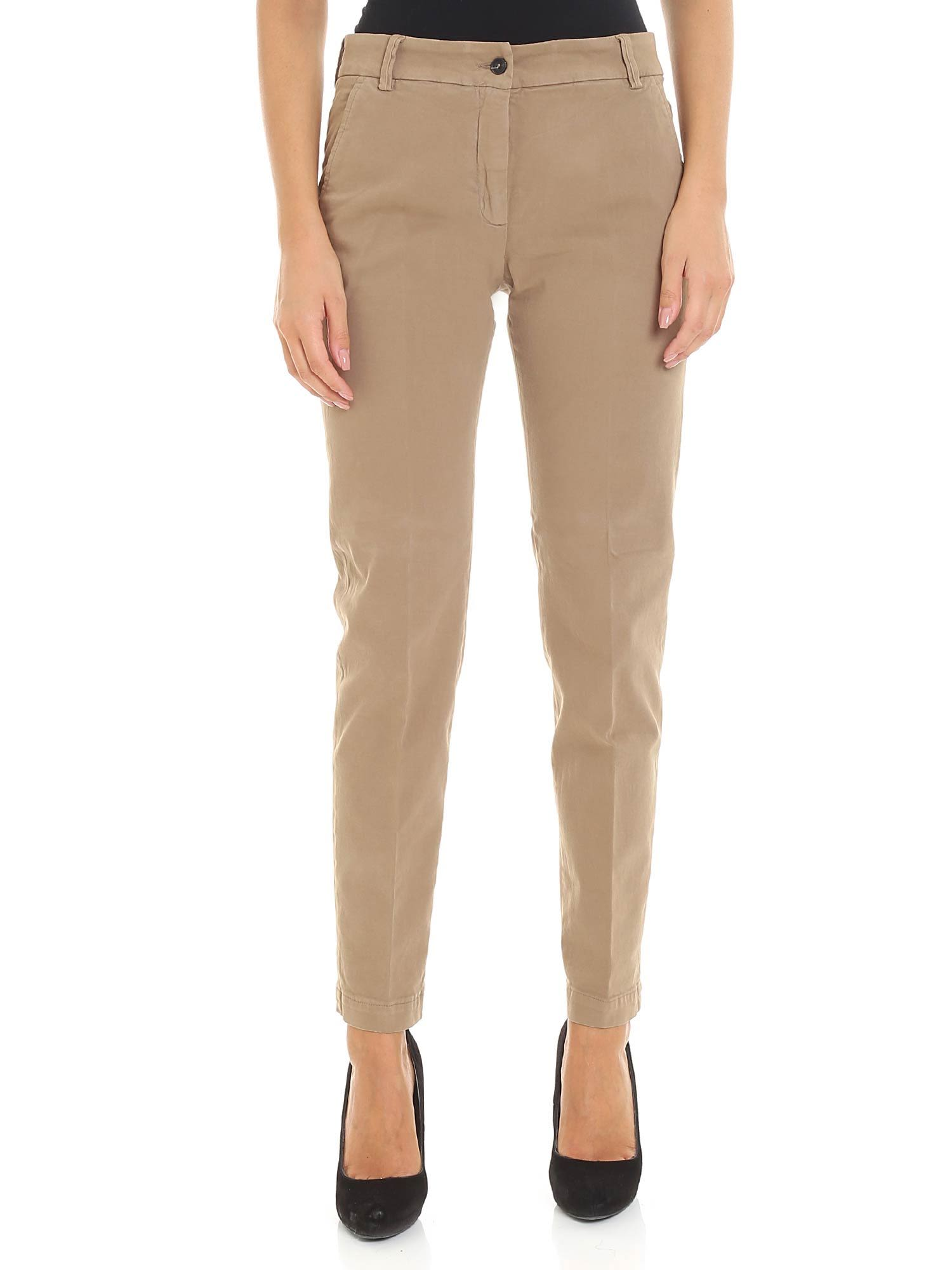 SEVENTY Classic Trousers in Basic