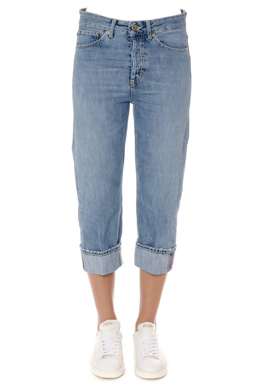 Dondup Shocking Cotton Denim Jeans 7721890