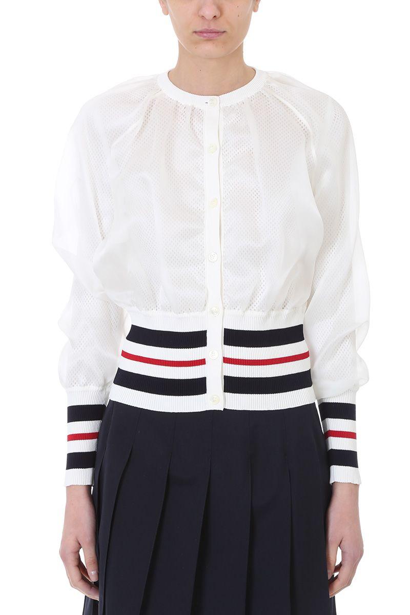 Camicia classica con piping interno Thom Browne Clearance Collections RLqSAhf