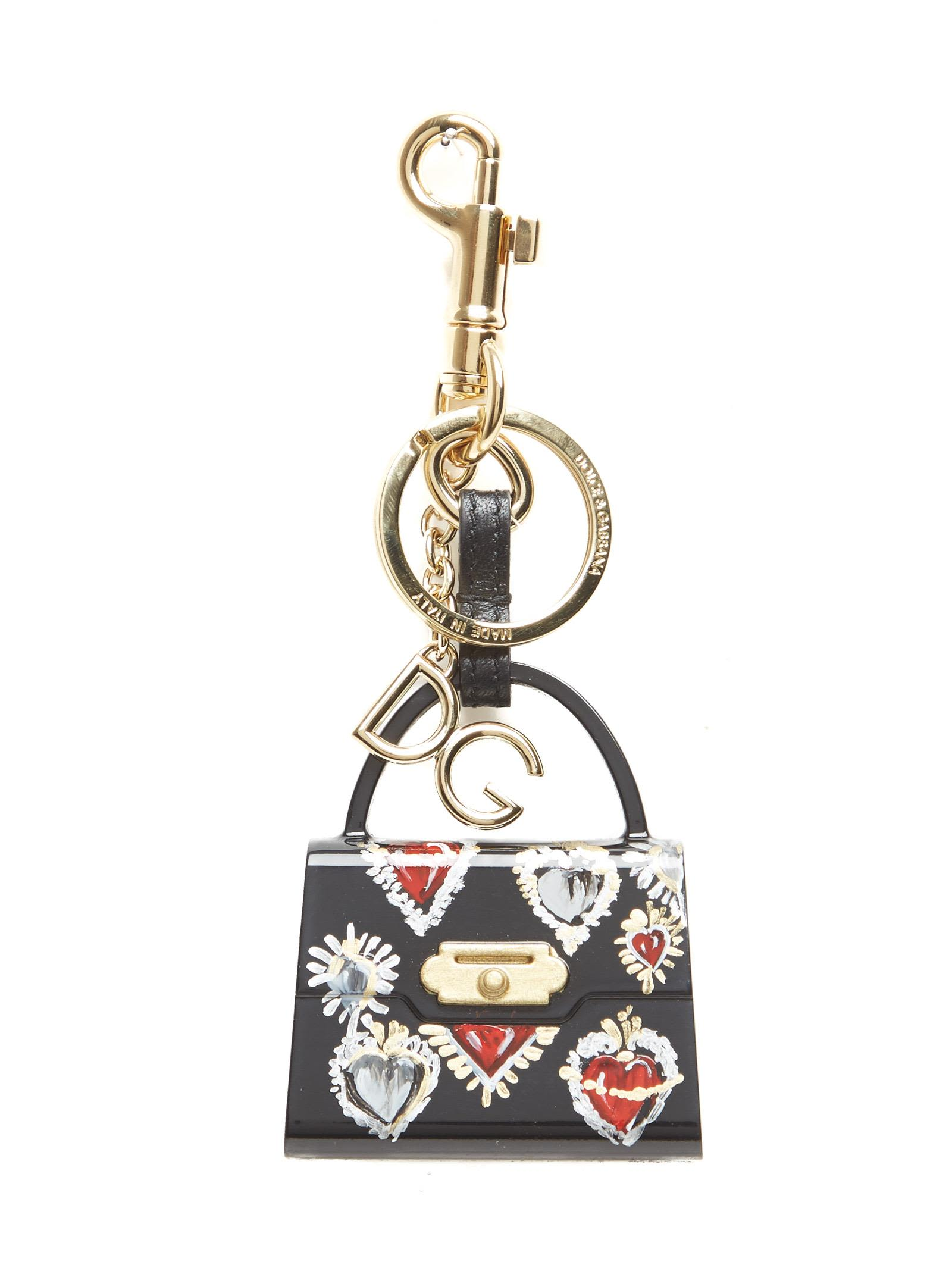 Dolce & Gabbana Welcome Tote keyring Cheap Collections Outlet Locations Cheap Price A4b1vpAG5C