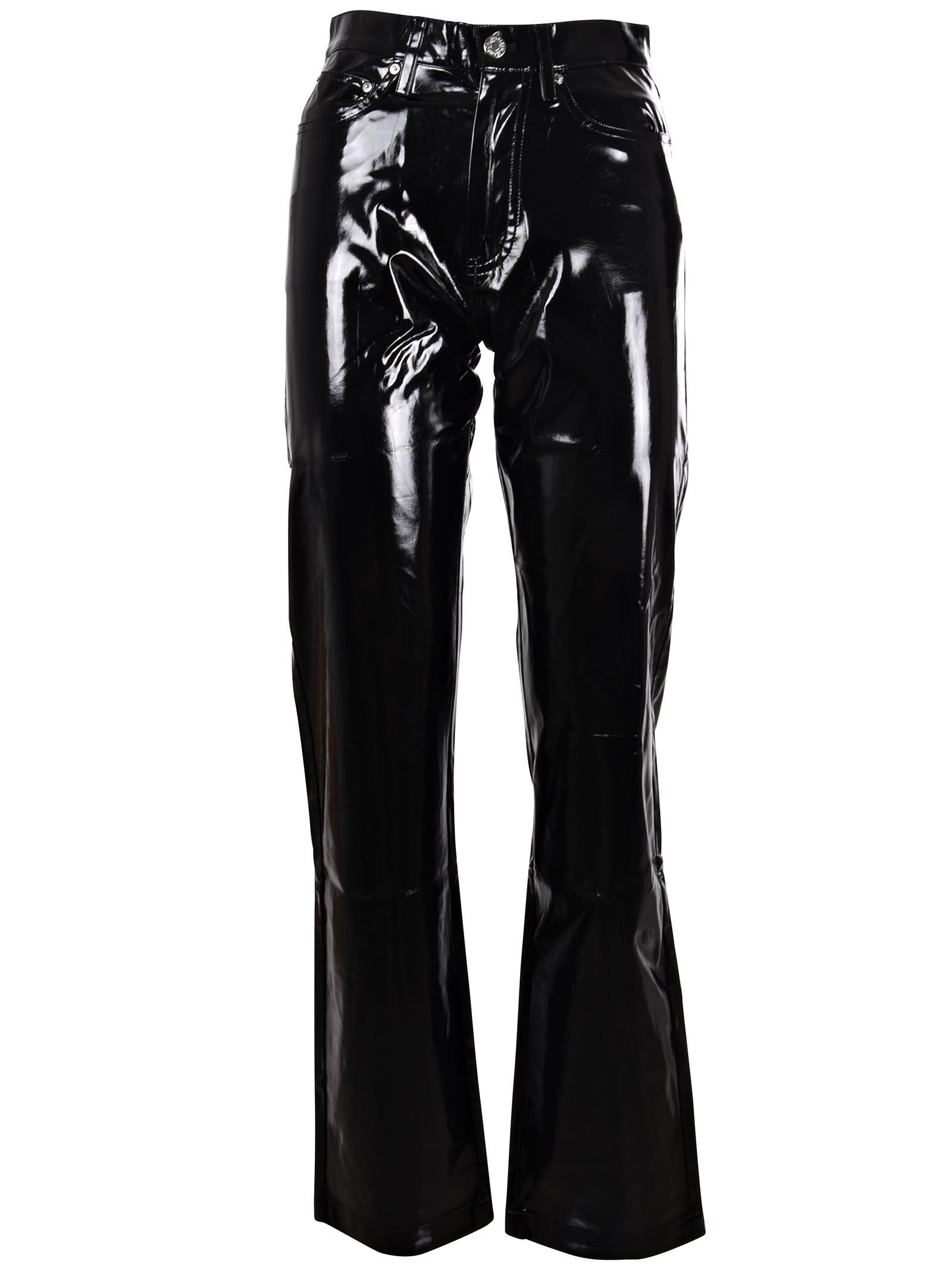 calvin klein jeans -  Vinyl Straight Cut Jeans