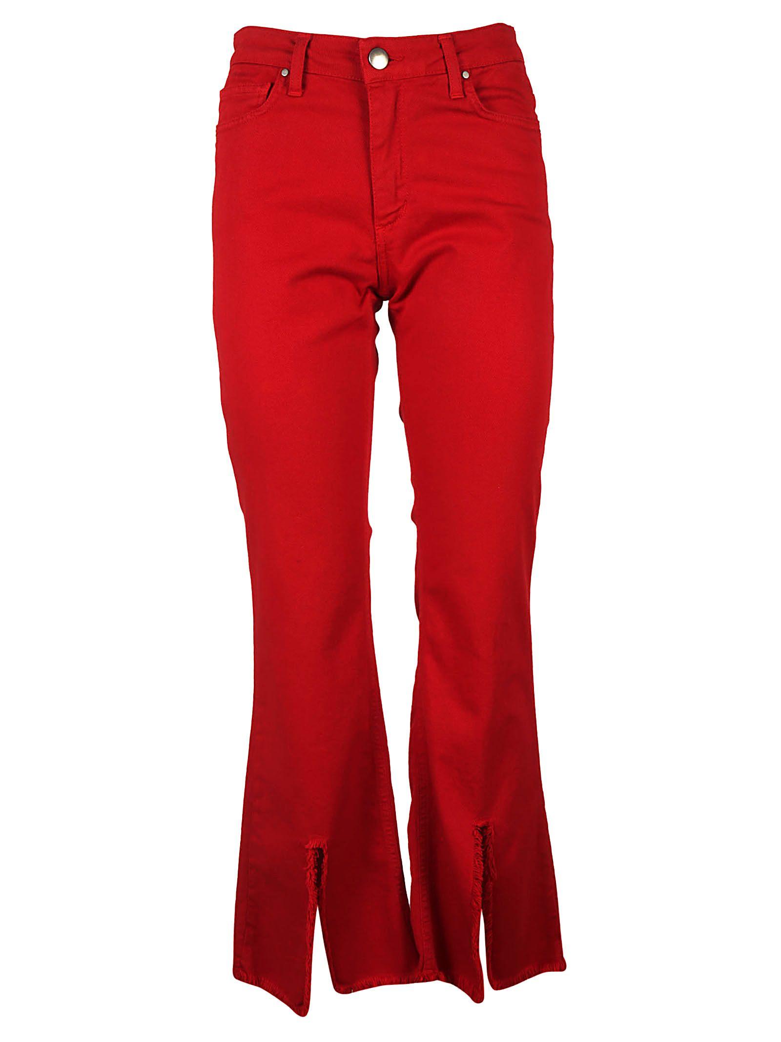Federica Tosi Skinny Flared Jeans 10570130