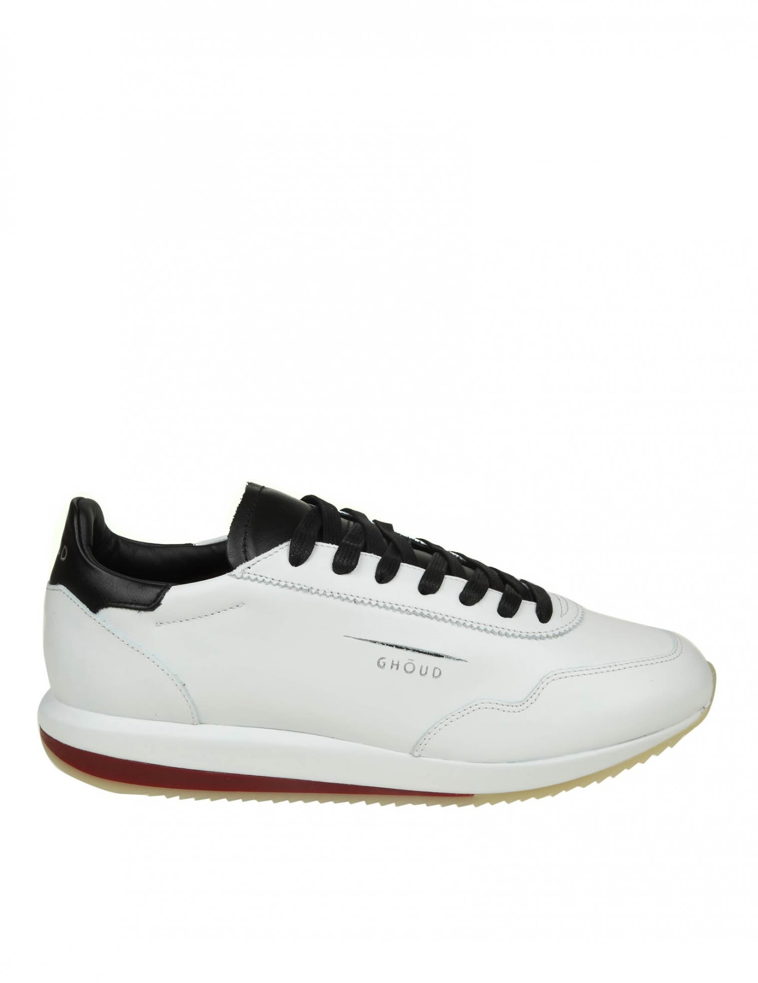 GHOUD SNEAKERS IN WHITE LEATHER