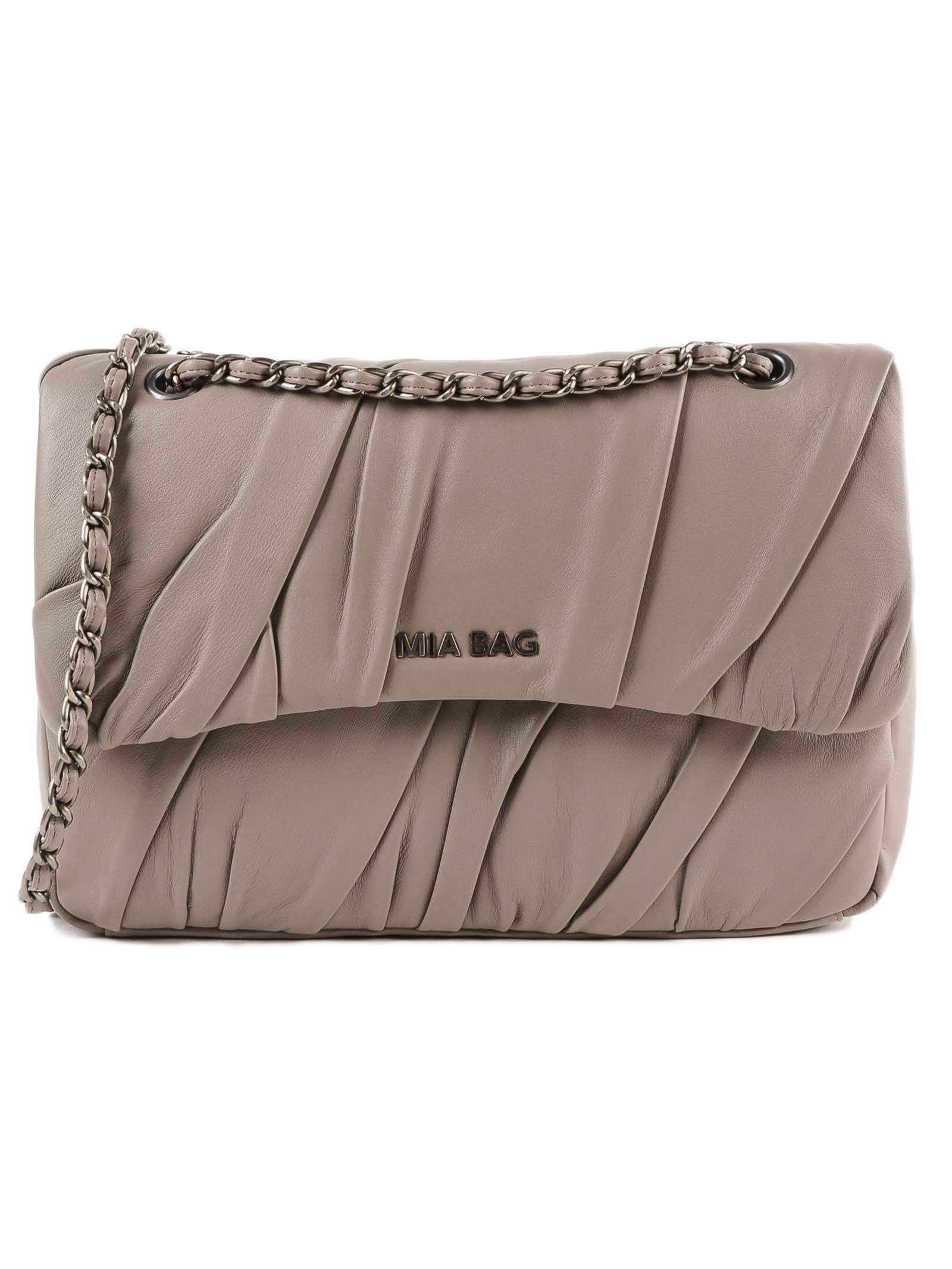 MIA BAG Trac Plisse in Taupe