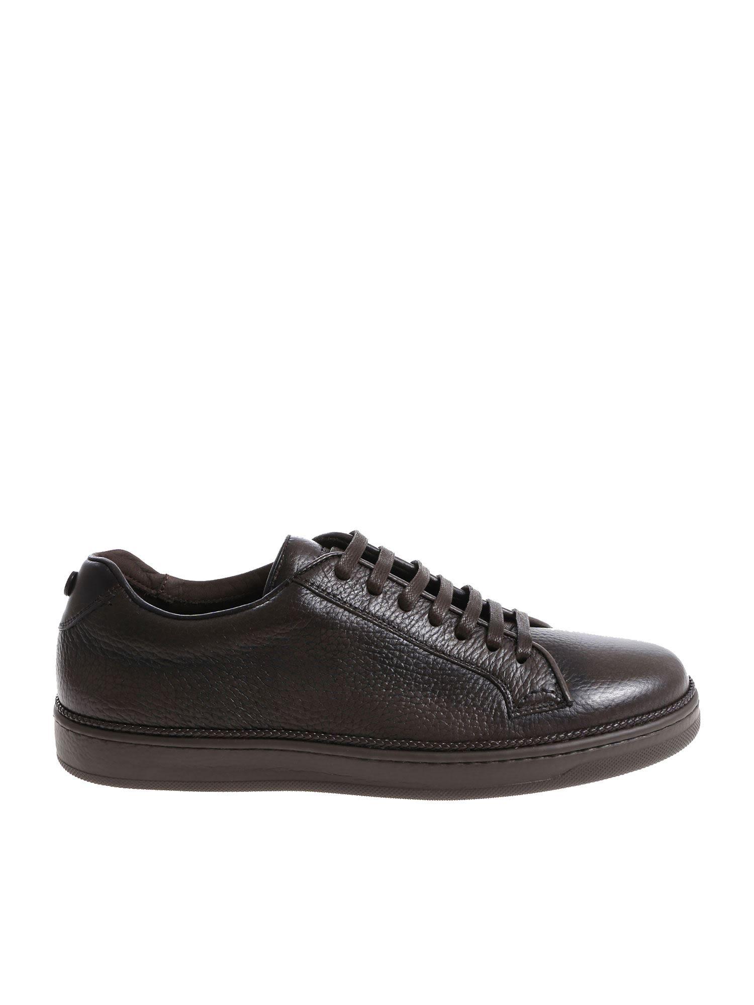 BLU BARRETT Nigel Sneakers in Fango