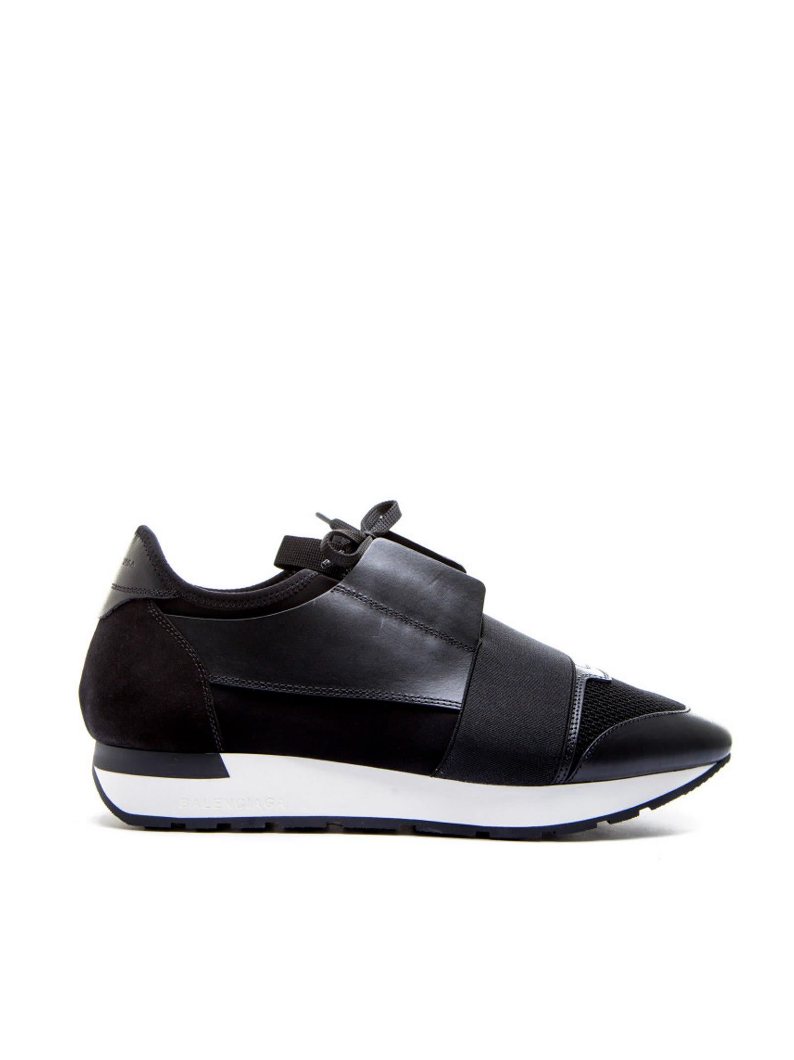 ef20da181b6d Balenciaga - Balenciaga Race Runners Black Sneakers - NOIR