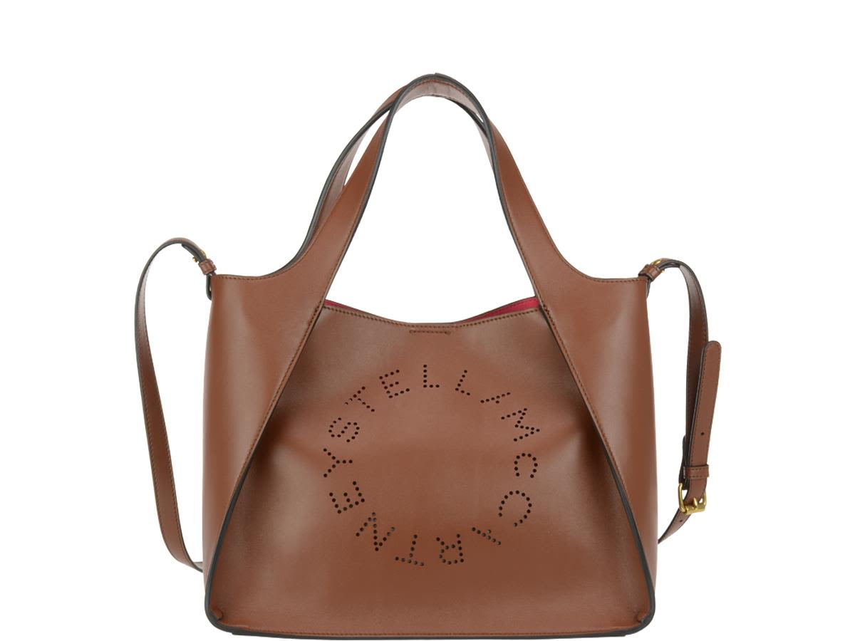 Stella Mccartney Stella Logo Tote Bag In Pecan   ModeSens 5dd94920fa