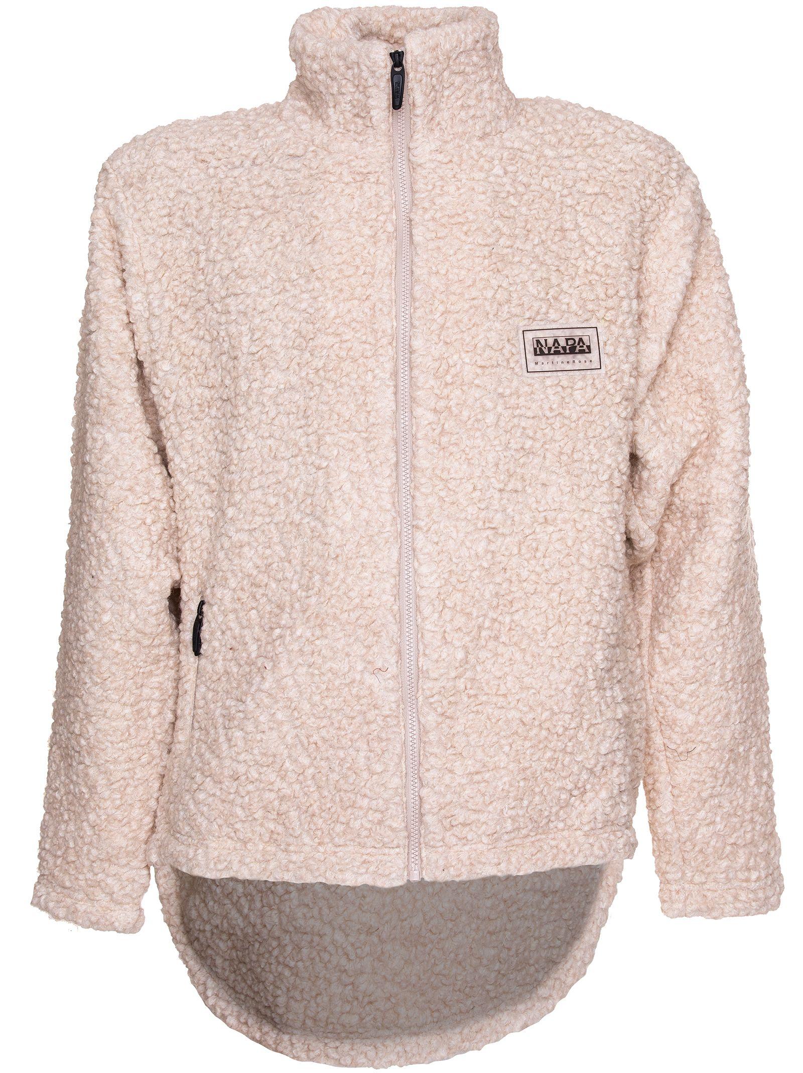 Napa By Martin Rose Sherpa Sweater, Beige