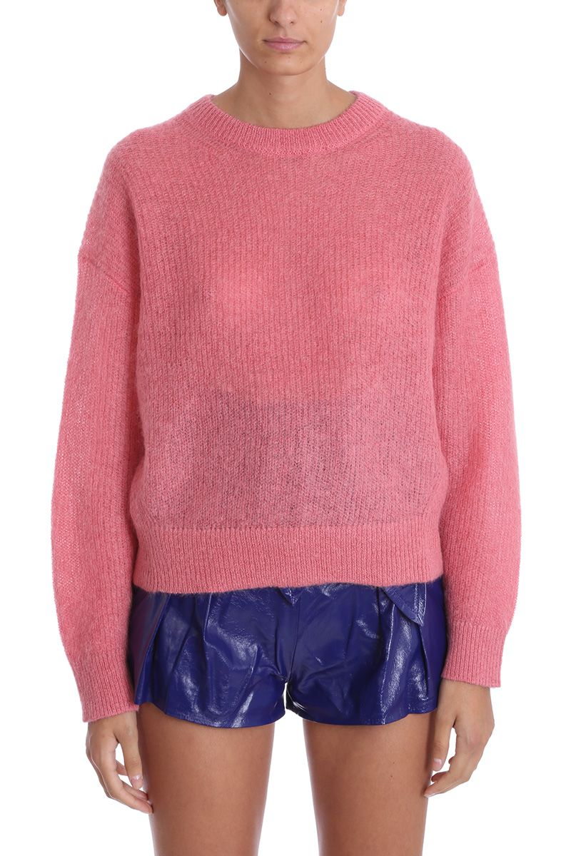 Version Knit Rose Iro In Sweater Pullover Wool Pink Mohair Uq11Xdw