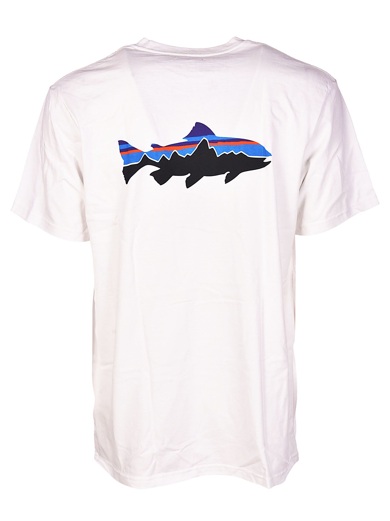 Discount 2018 Cheap Wholesale Price FITZ ROY TROUT COTTON T-SHIRT - TOPWEAR - T-shirts Patagonia Cheap Sale 2018 Unisex With Paypal Sale Online Sale Best Seller Q1h8X