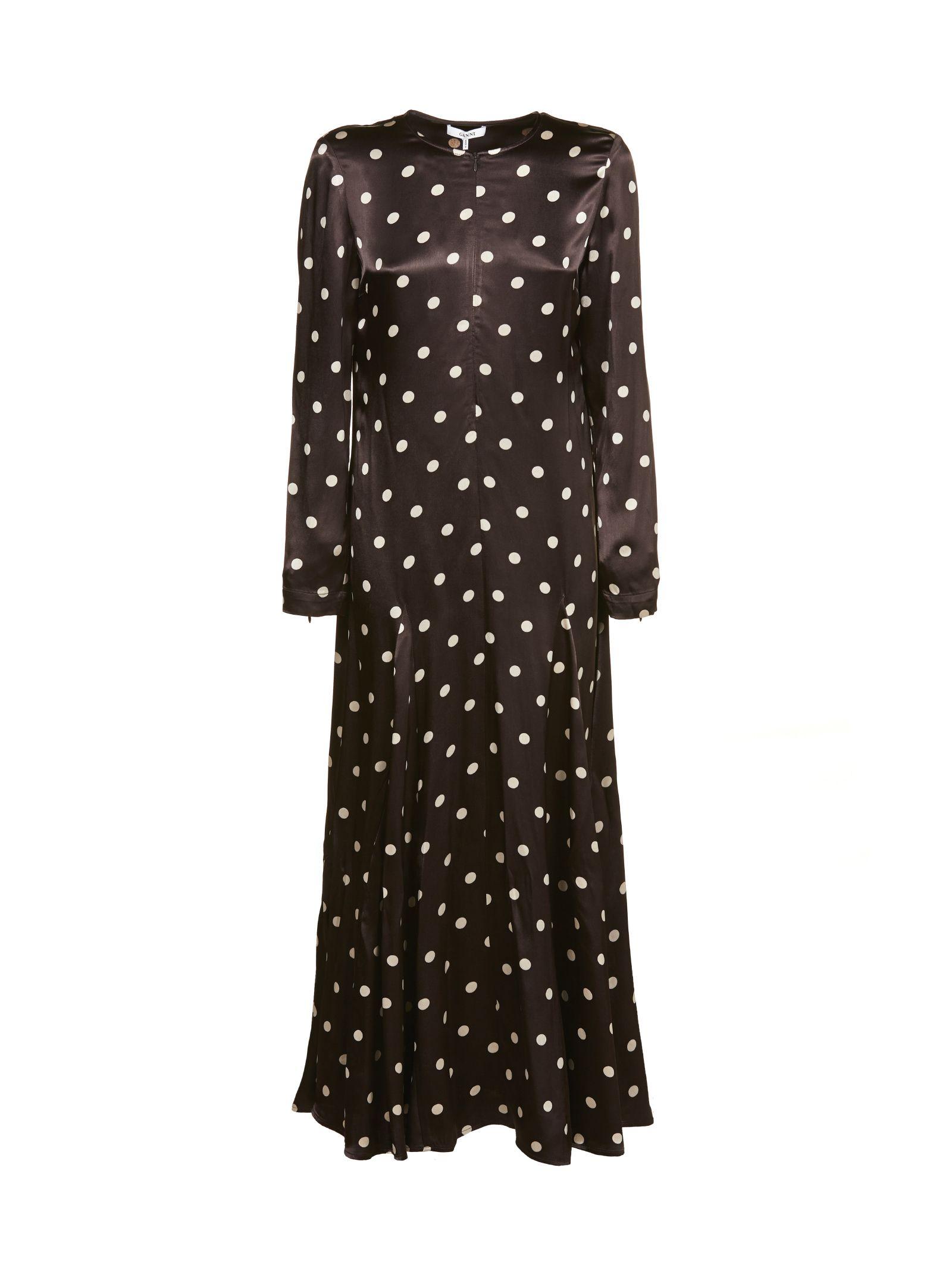 Ganni Polka Dot Dress