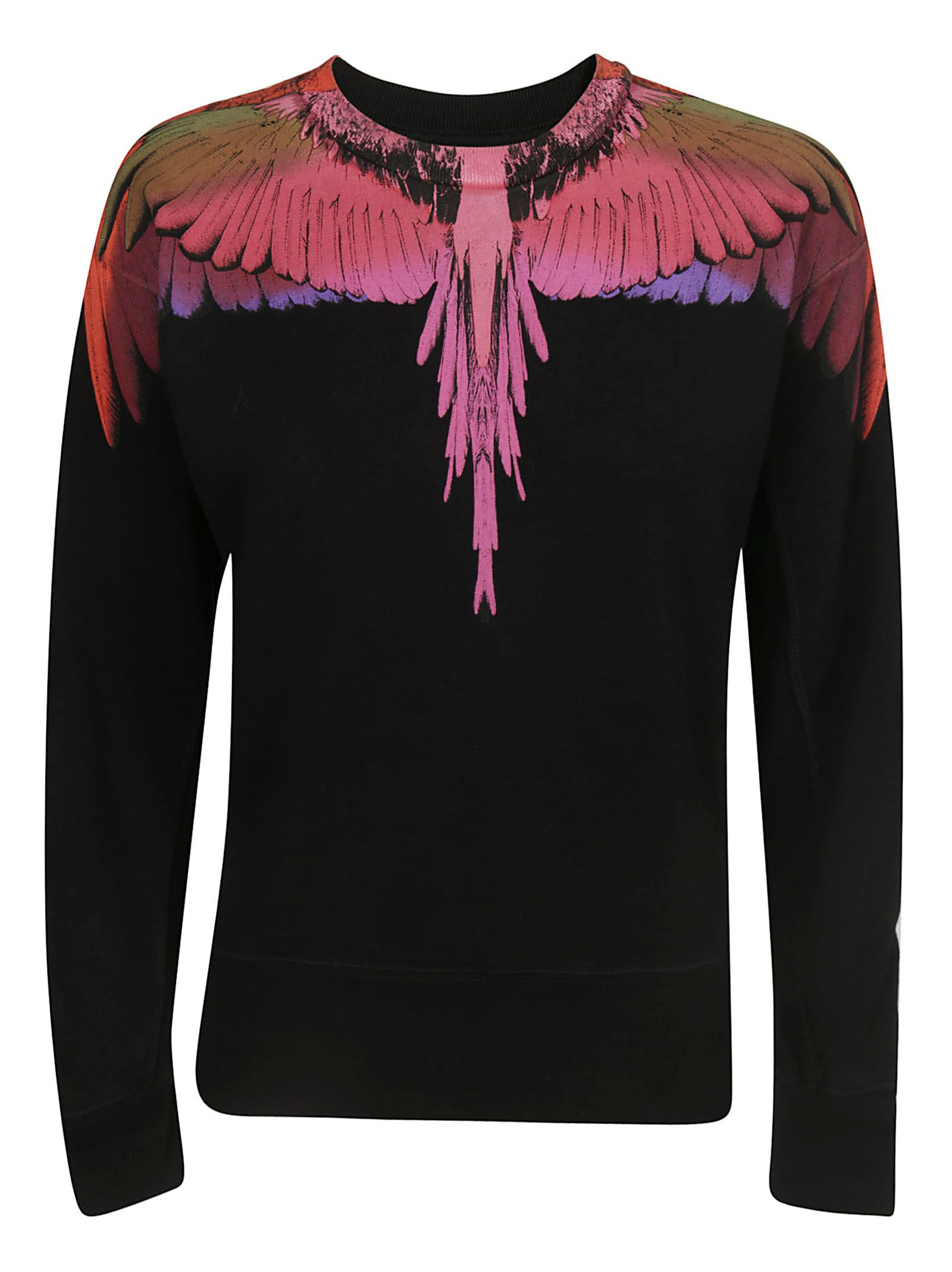 Marcelo Burlon County Of Milan BIRD PRINT KNITTED TOP