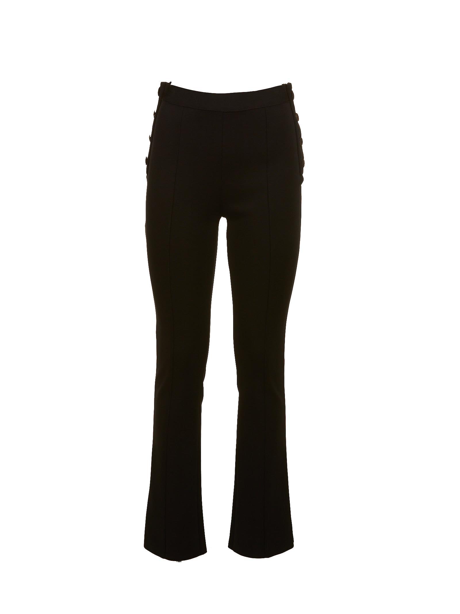 Pantalon À Taille Haute - Noir Givenchy D7UKGvlPkN
