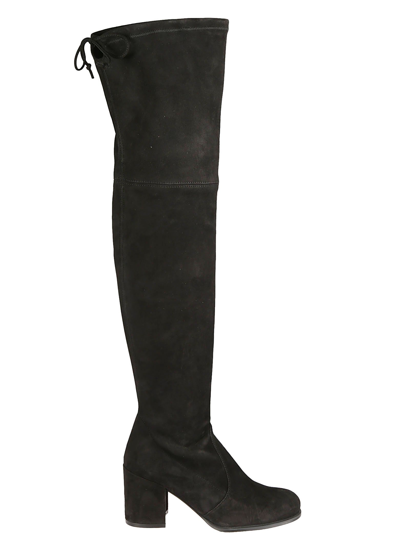 Tieland Over-The-Knee Boots in Black