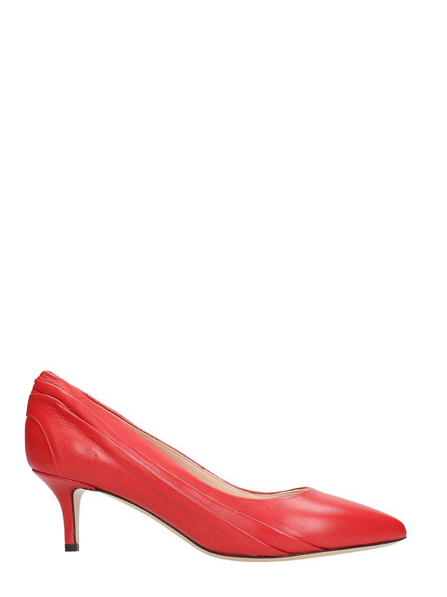 Marc Ellis Red Leather Pumps 10609181