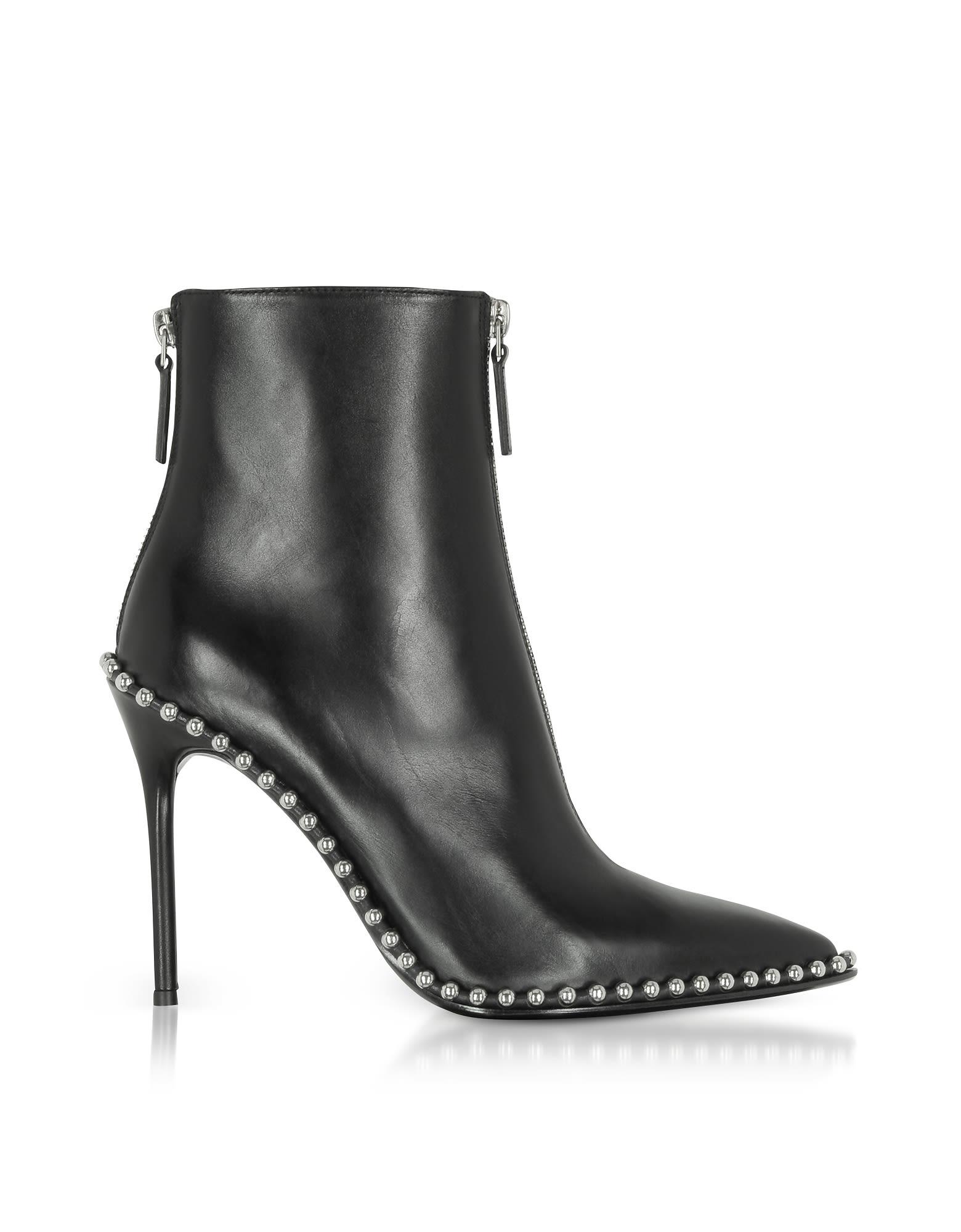 Alexander Wang Eri Black Leather Boots 10647145