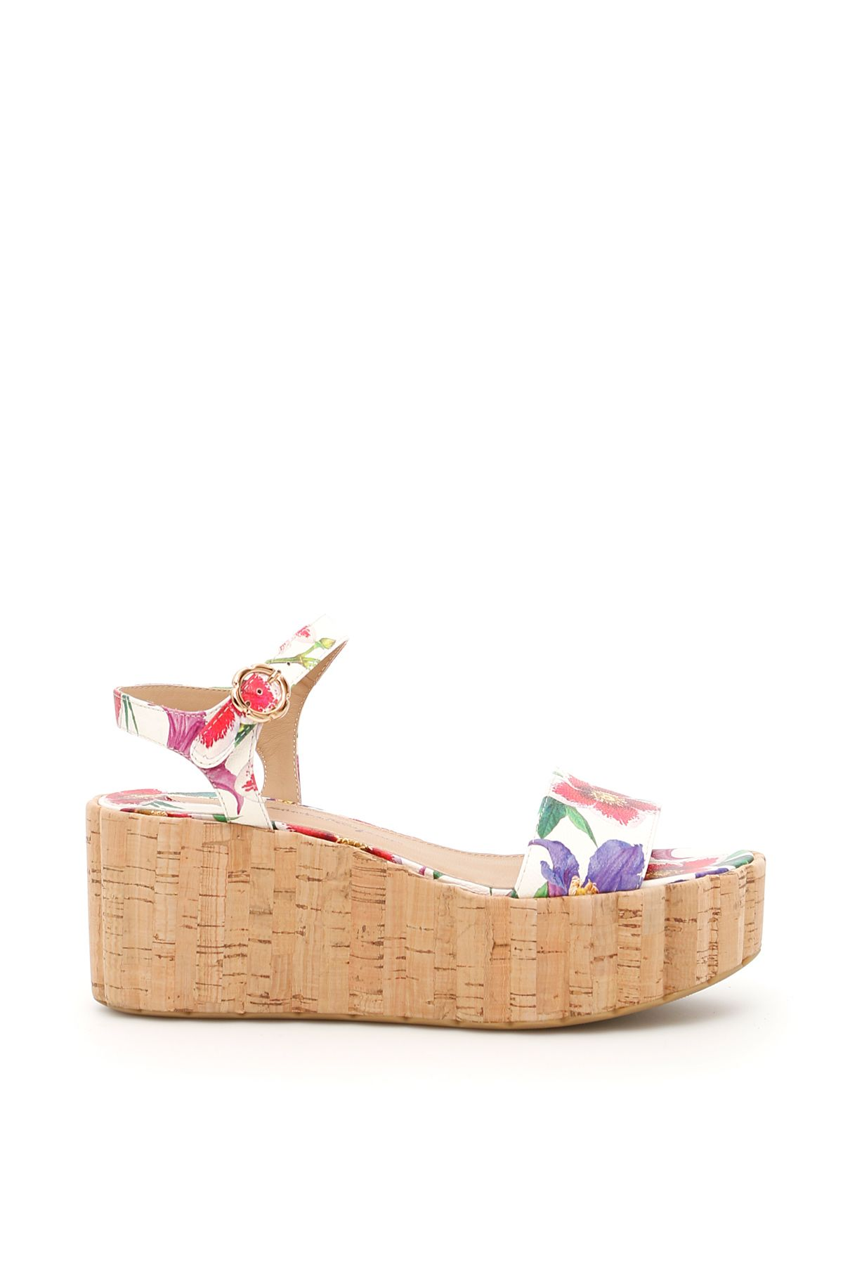Cheap Limited Edition Salvatore Ferragamo Floral Print Tropea Sandals Discount Affordable Buy Cheap Best Place ugeeEcS0