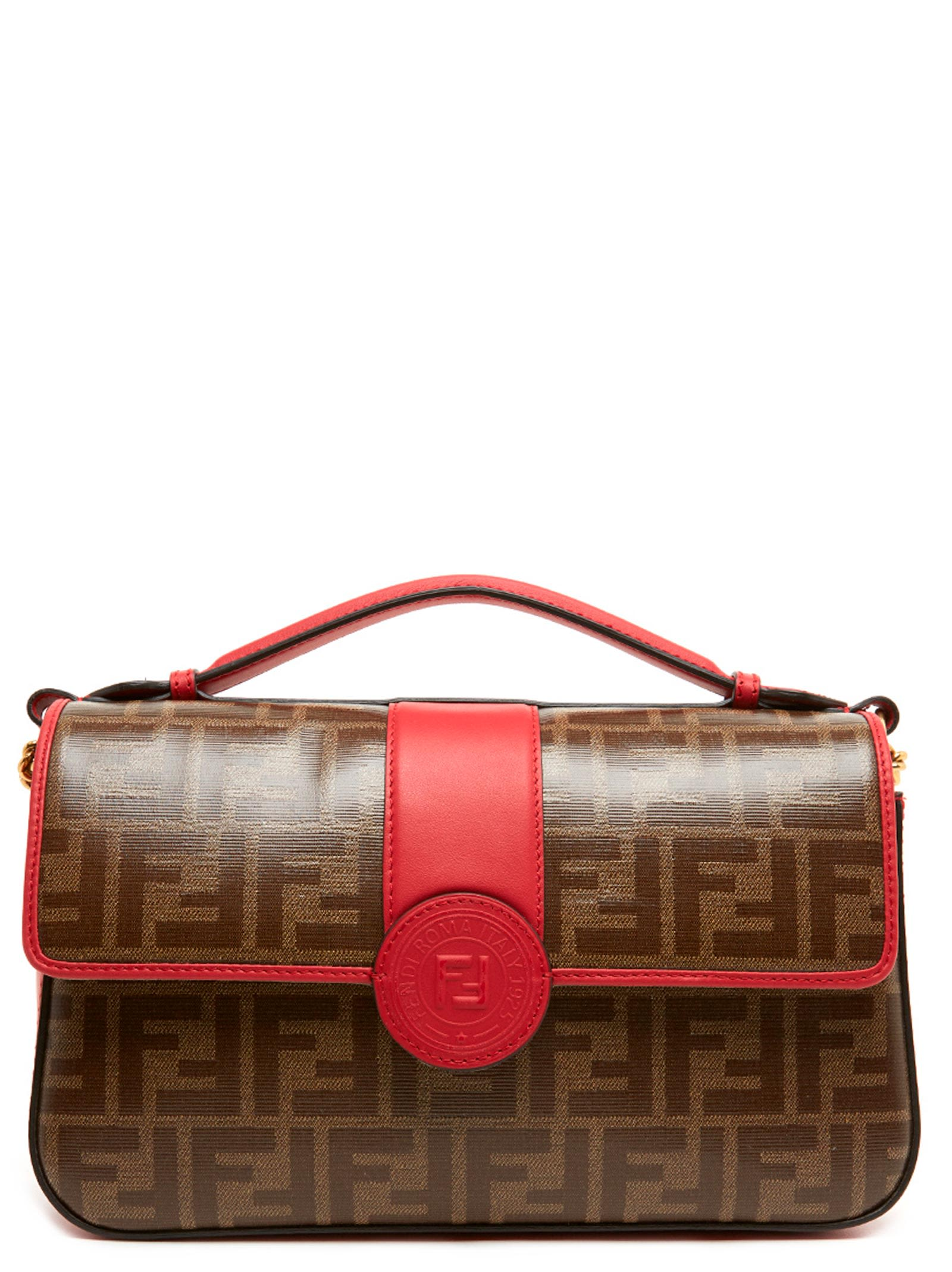 df50a531afe Fendi  Double Ff  Bag In Red   ModeSens