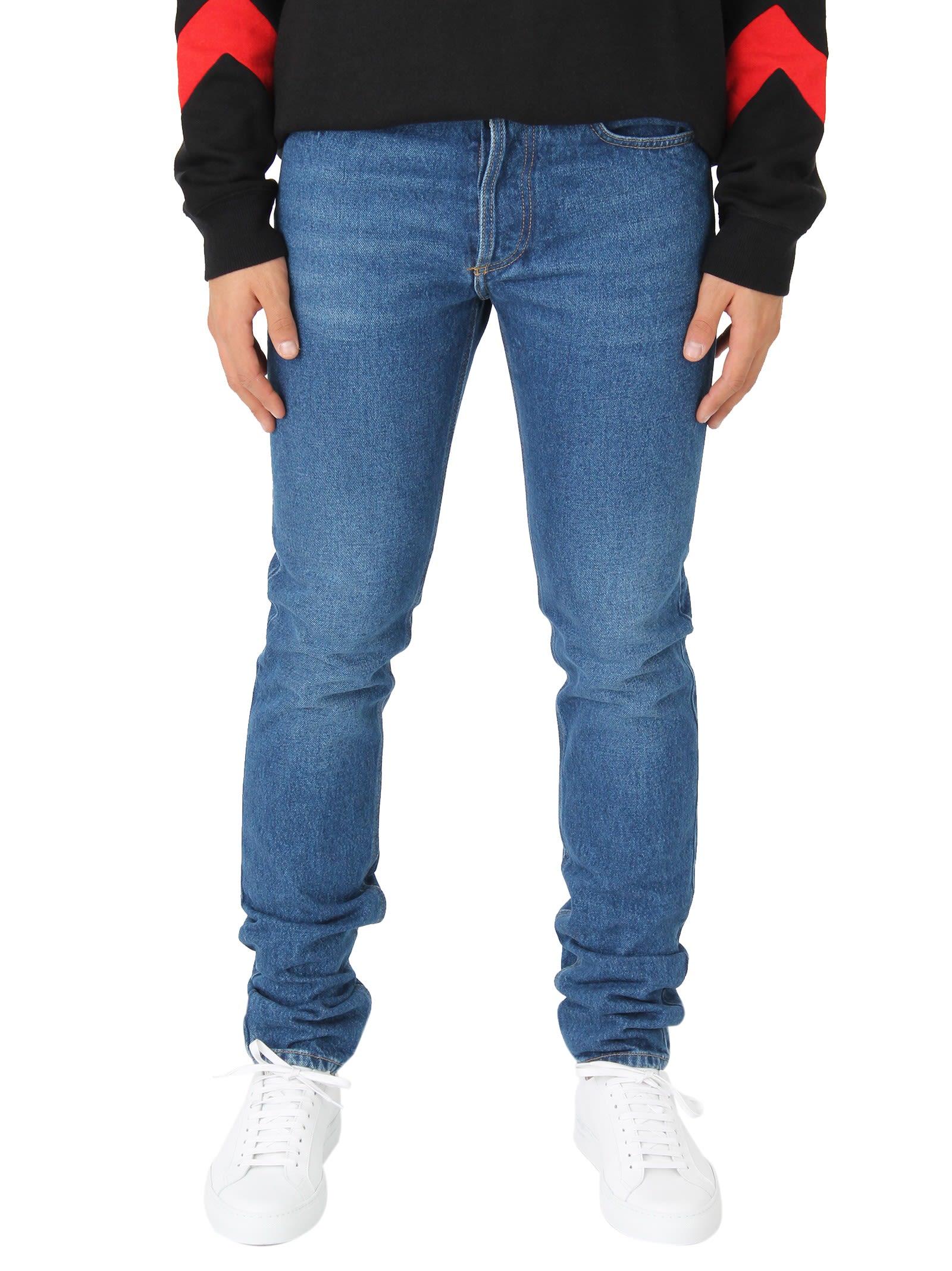 Givenchy Logo Blue Jeans 9879297