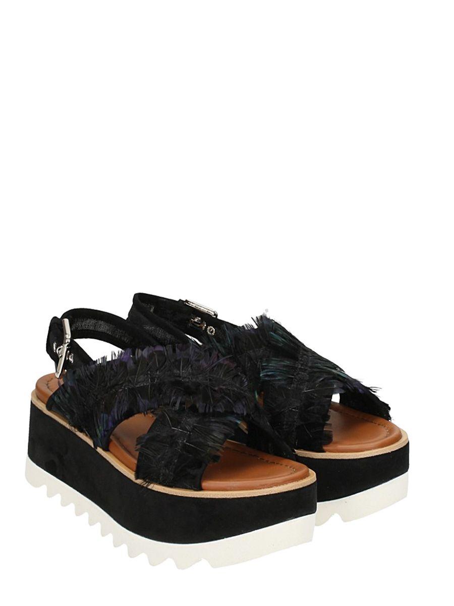 slingback platform sandals - Black Premiata 8gXTxEJ