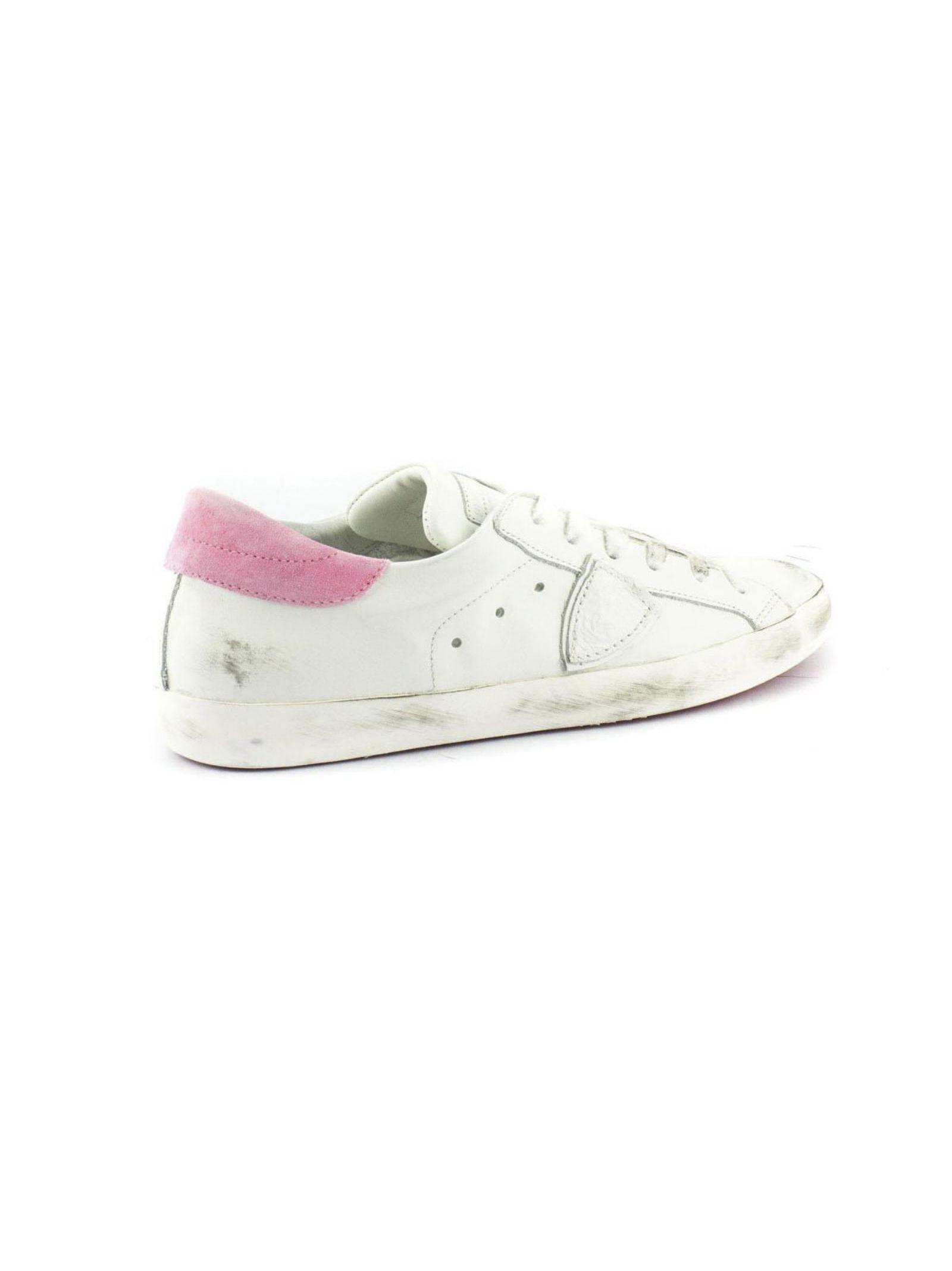 Sneaker En Cuir Blanc Paris oEdp1qQpT7